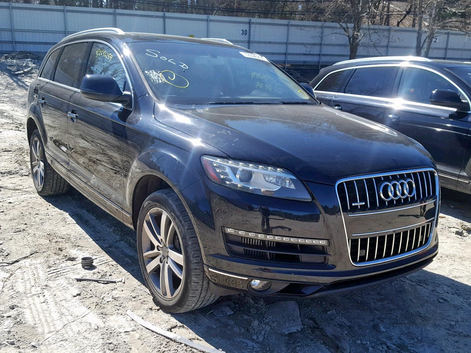 Salvage 2012 Audi Q7 PREMIUM for sale