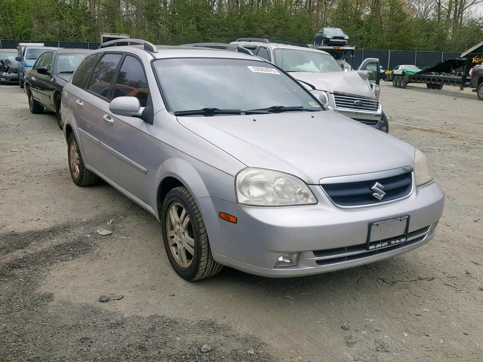 Salvage 2006 Suzuki FORENZA PR for sale