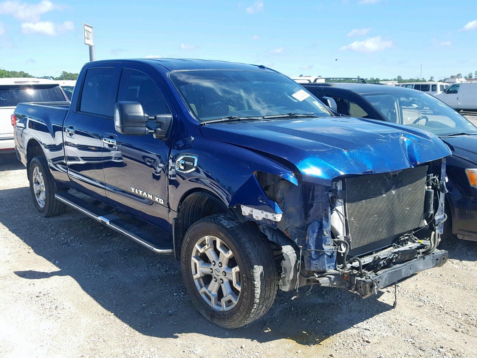 Salvage 2017 Nissan TITAN XD S for sale