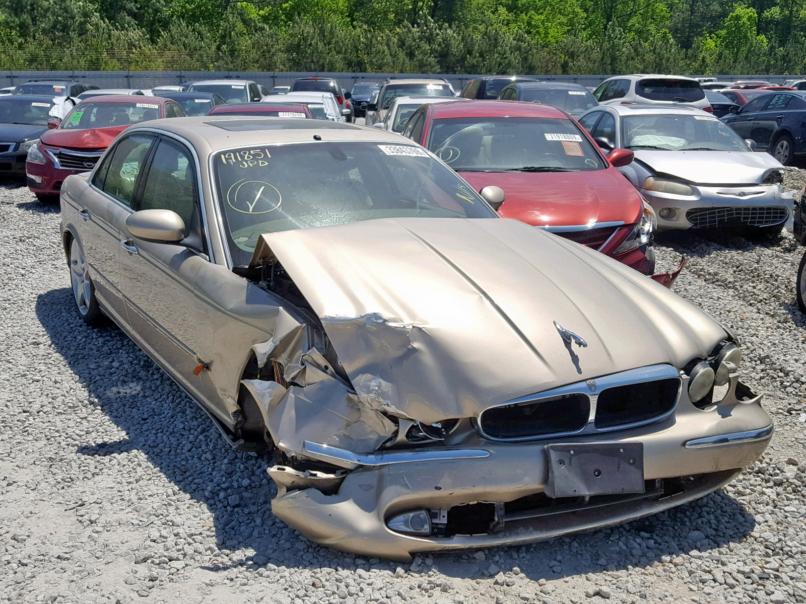 Salvage 2004 Jaguar XJ8 for sale