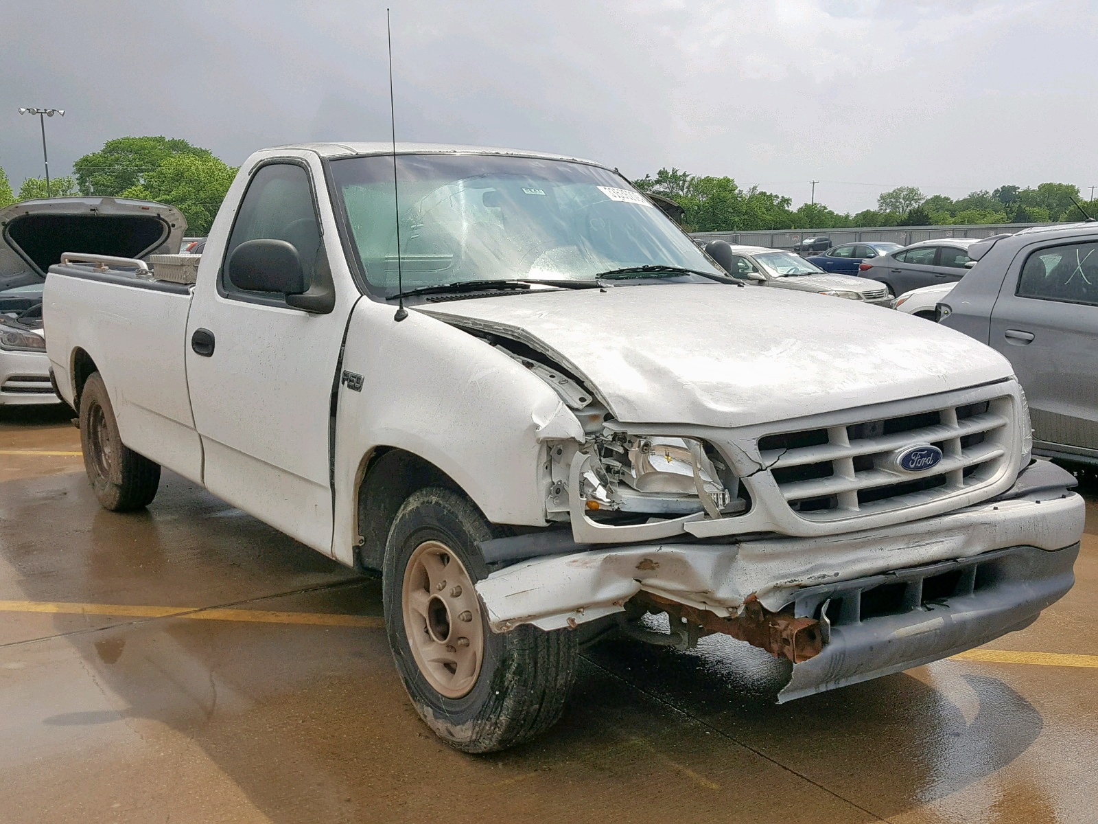 1999 Ford F150 for sale at Copart Wilmer, TX Lot# 33536209