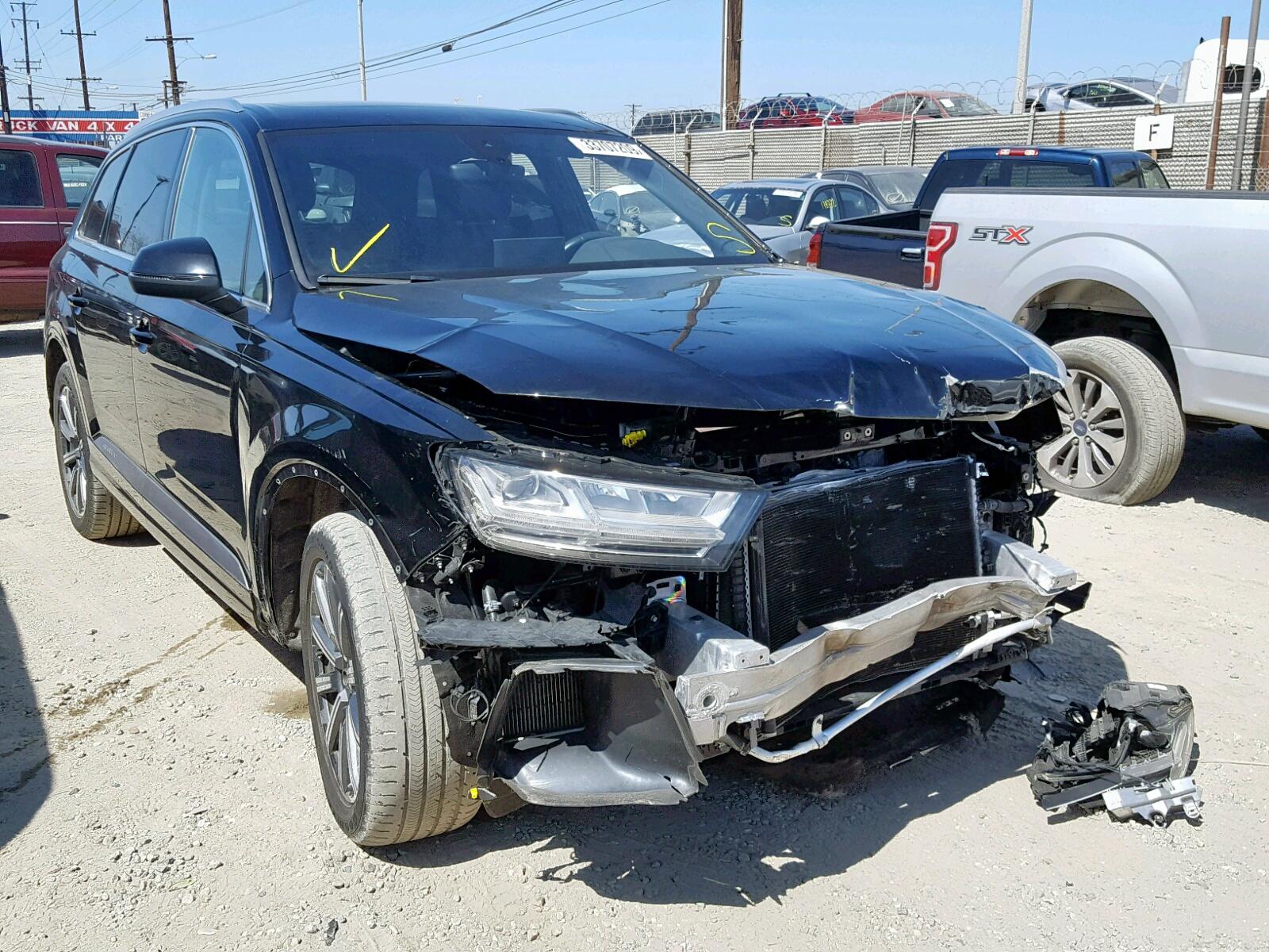 Salvage 2017 Audi Q7 PREMIUM for sale