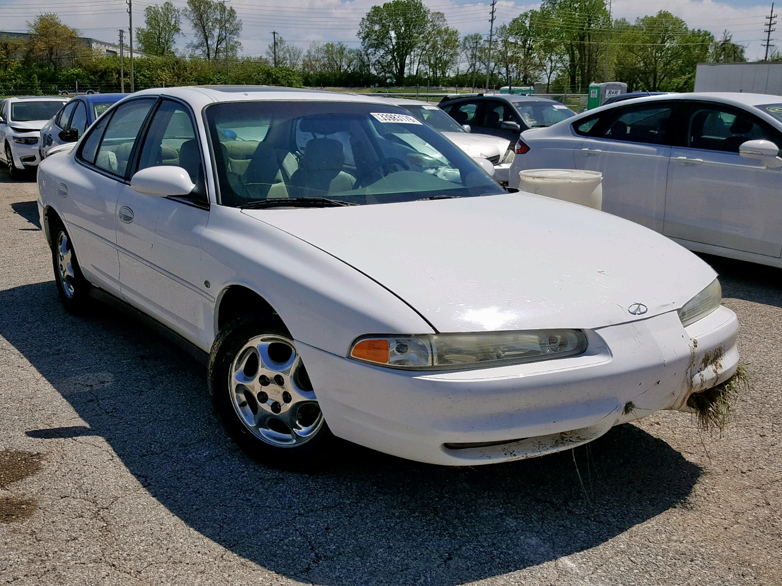 Salvage 1999 Oldsmobile INTRIGUE G for sale
