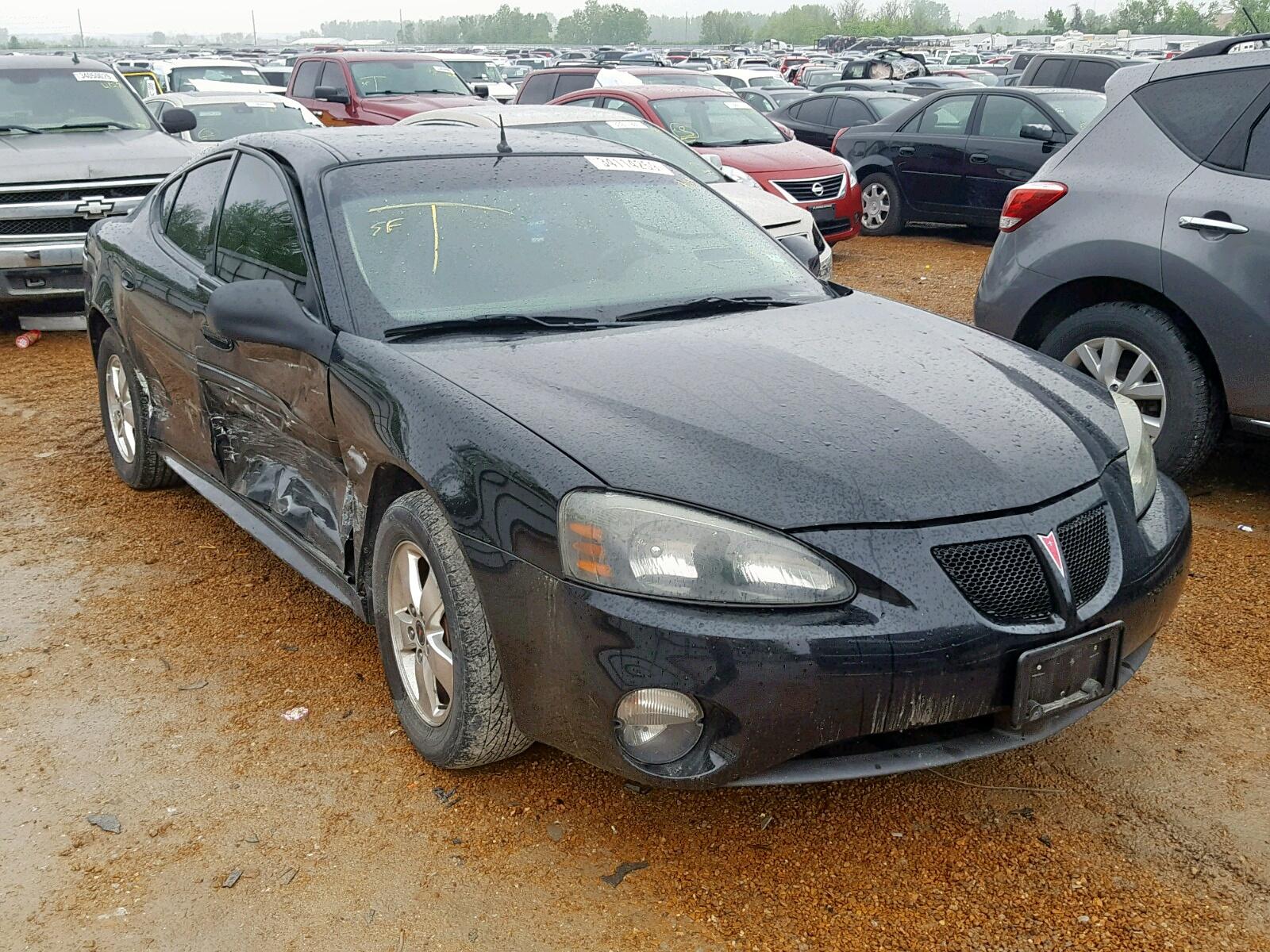 Salvage 2005 Pontiac GRAND PRIX for sale