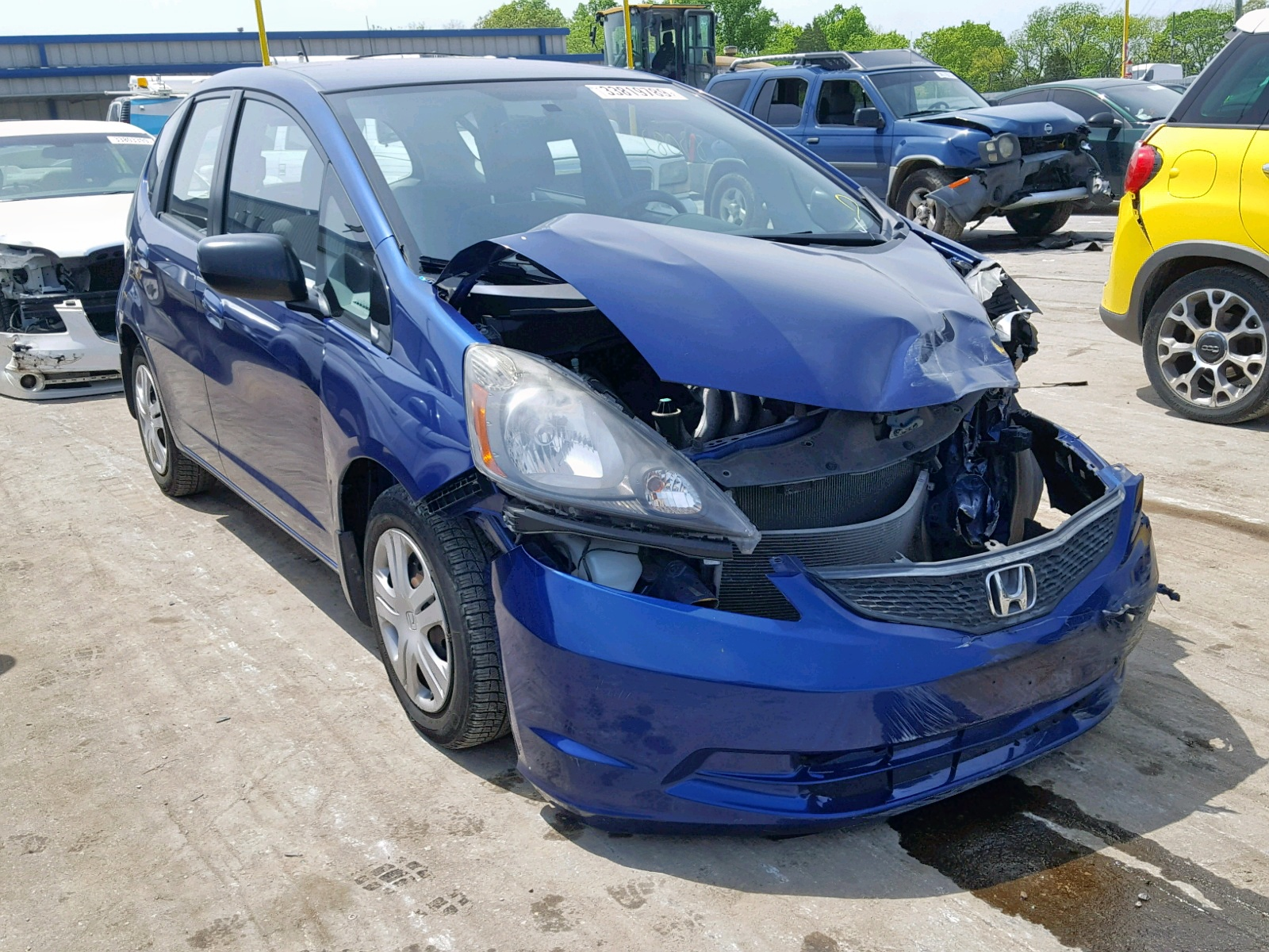 Salvage 2009 Honda FIT for sale