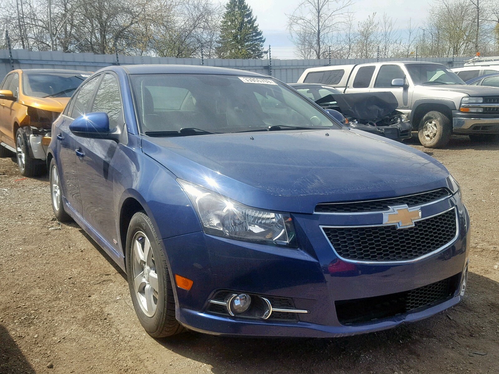 Salvage 2012 Chevrolet CRUZE LT for sale
