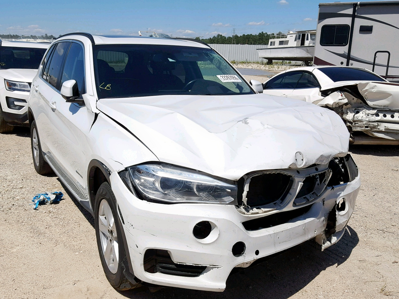 Salvage 2016 BMW X5 SDRIVE3 for sale