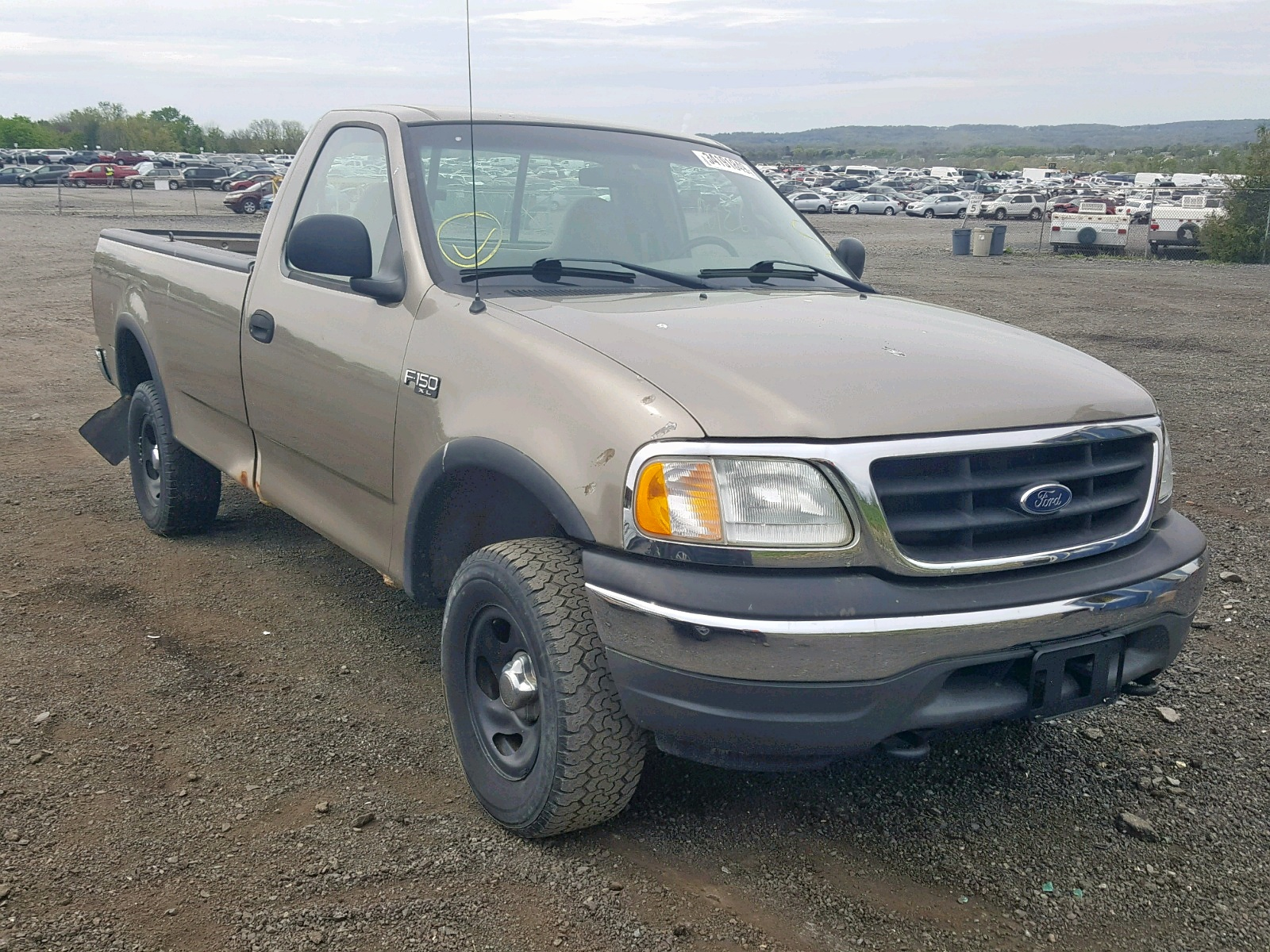 Salvage 2002 Ford F150 for sale