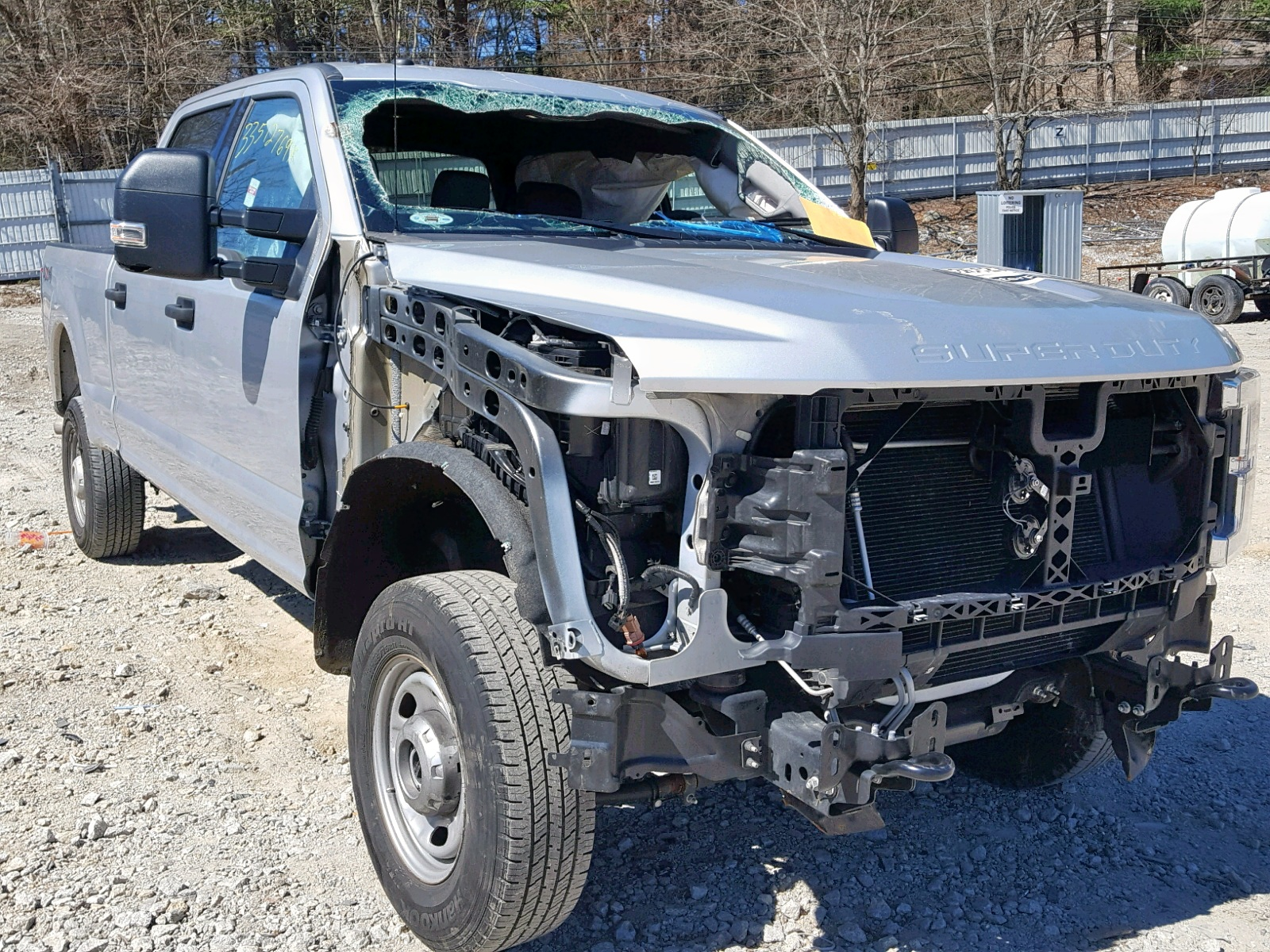 Salvage 2018 Ford F250 SUPER for sale