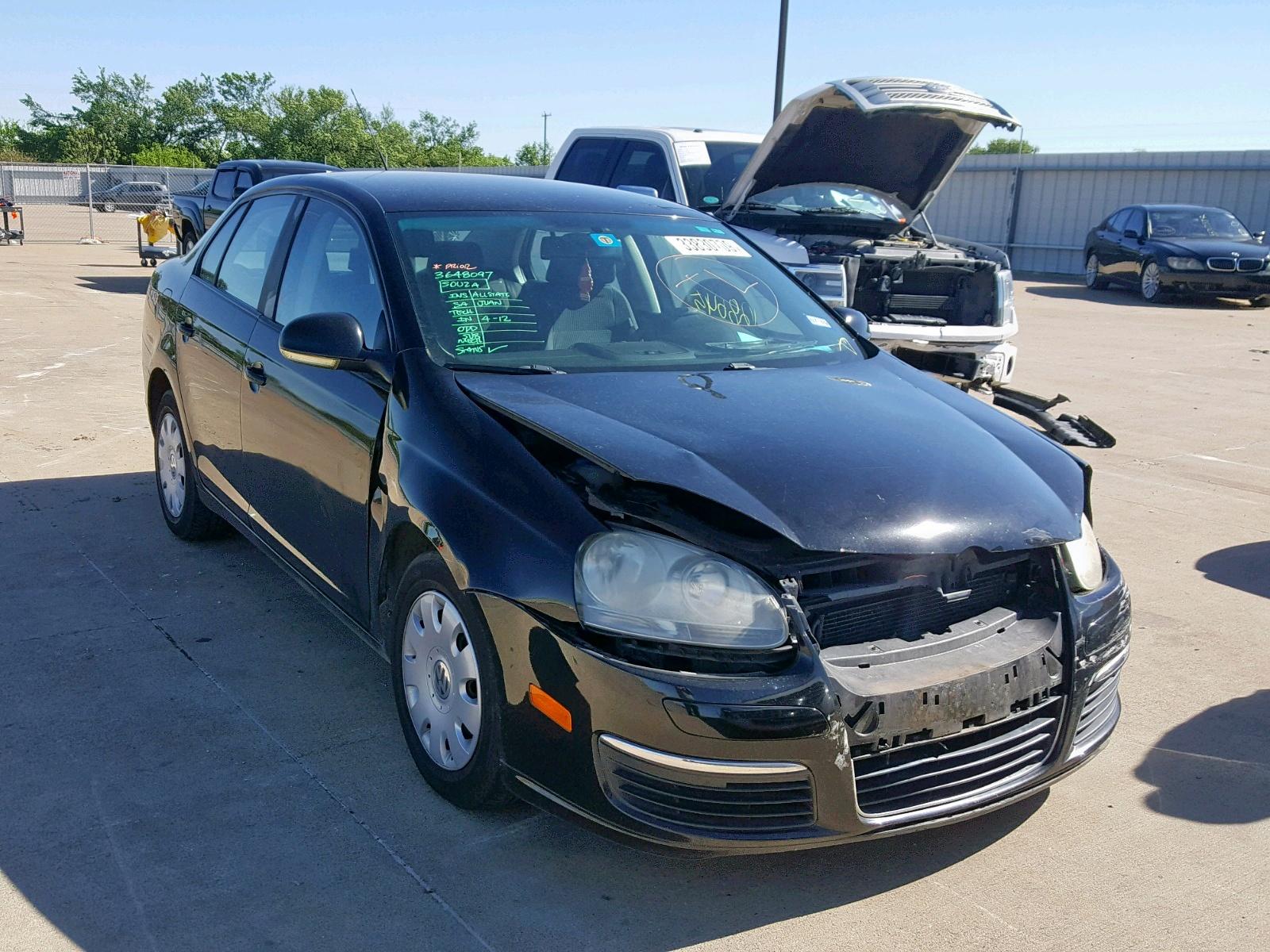 Salvage 2007 Volkswagen JETTA for sale