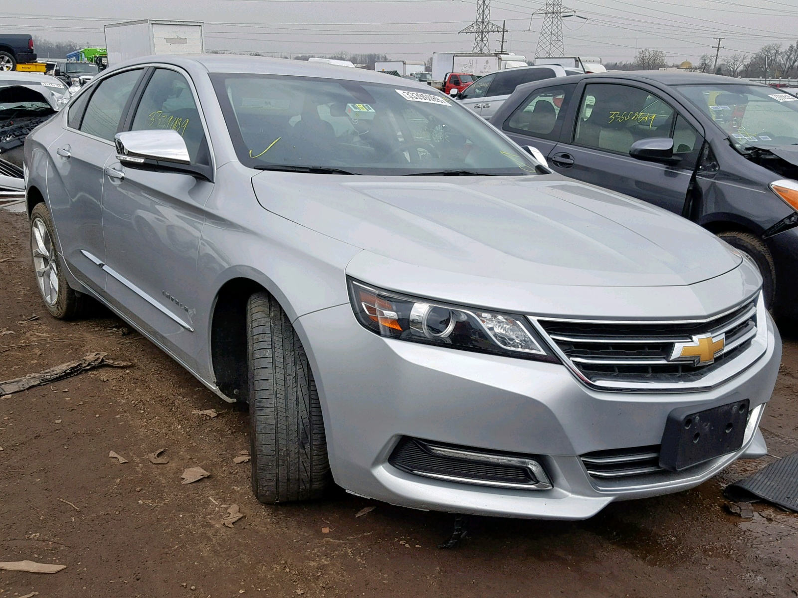Salvage 2018 Chevrolet IMPALA PRE for sale