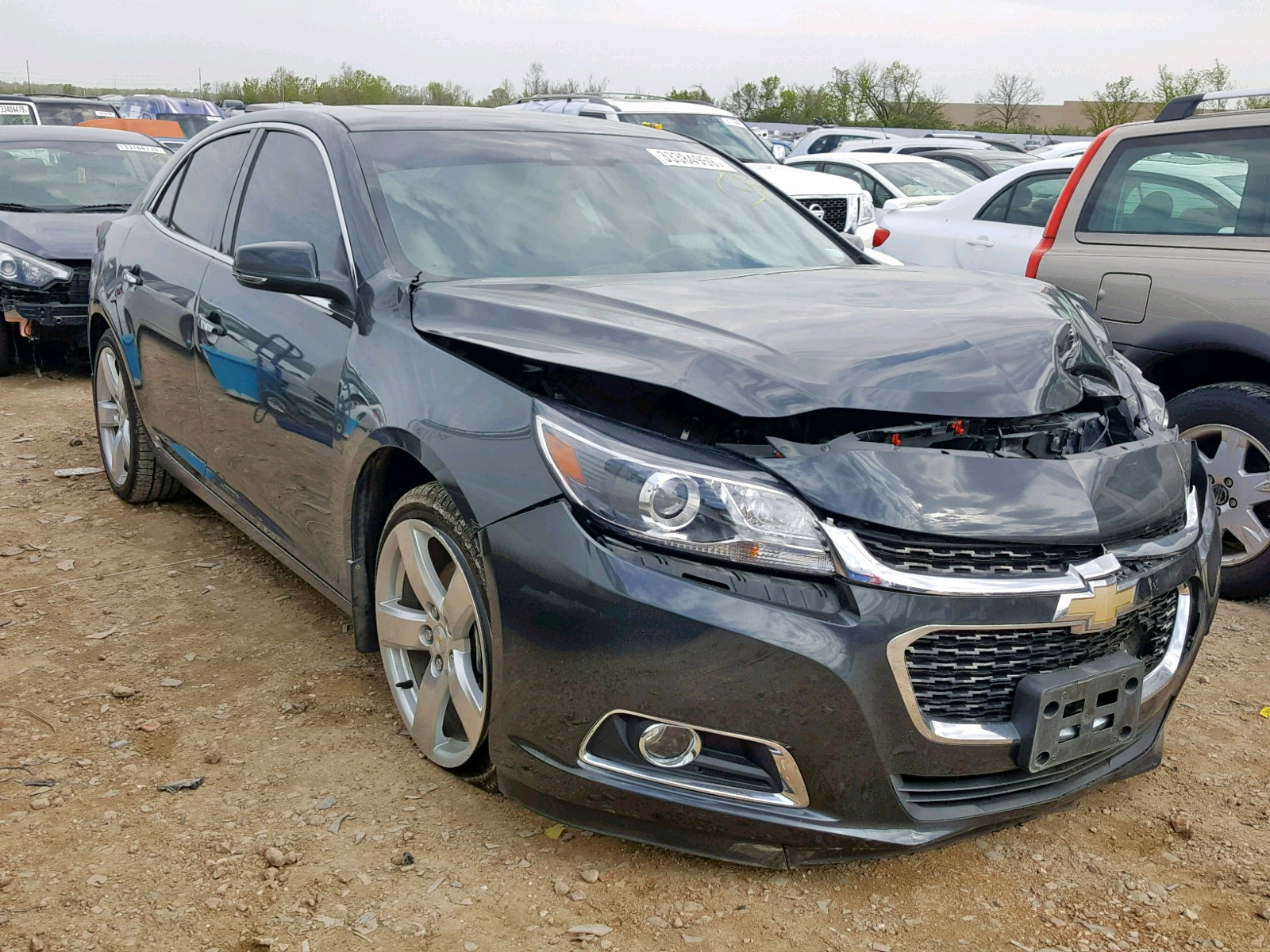 Salvage 2014 Chevrolet MALIBU LTZ for sale