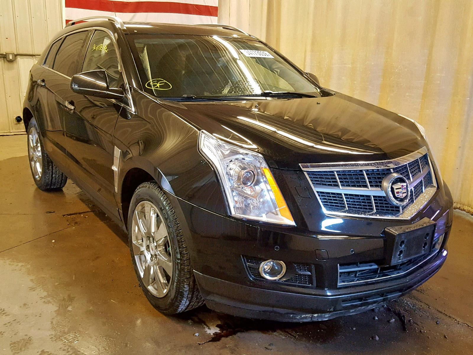 Salvage 2012 Cadillac SRX PREMIUM for sale