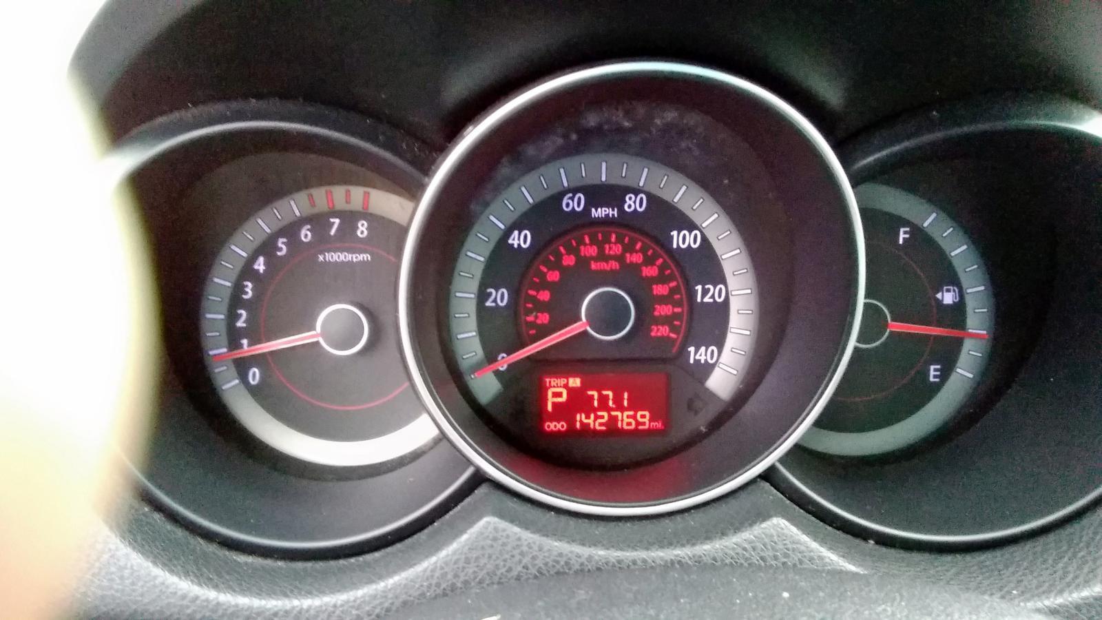 KNAFU4A20B5358577 - 2011 Kia Forte Ex 2.0L inside view