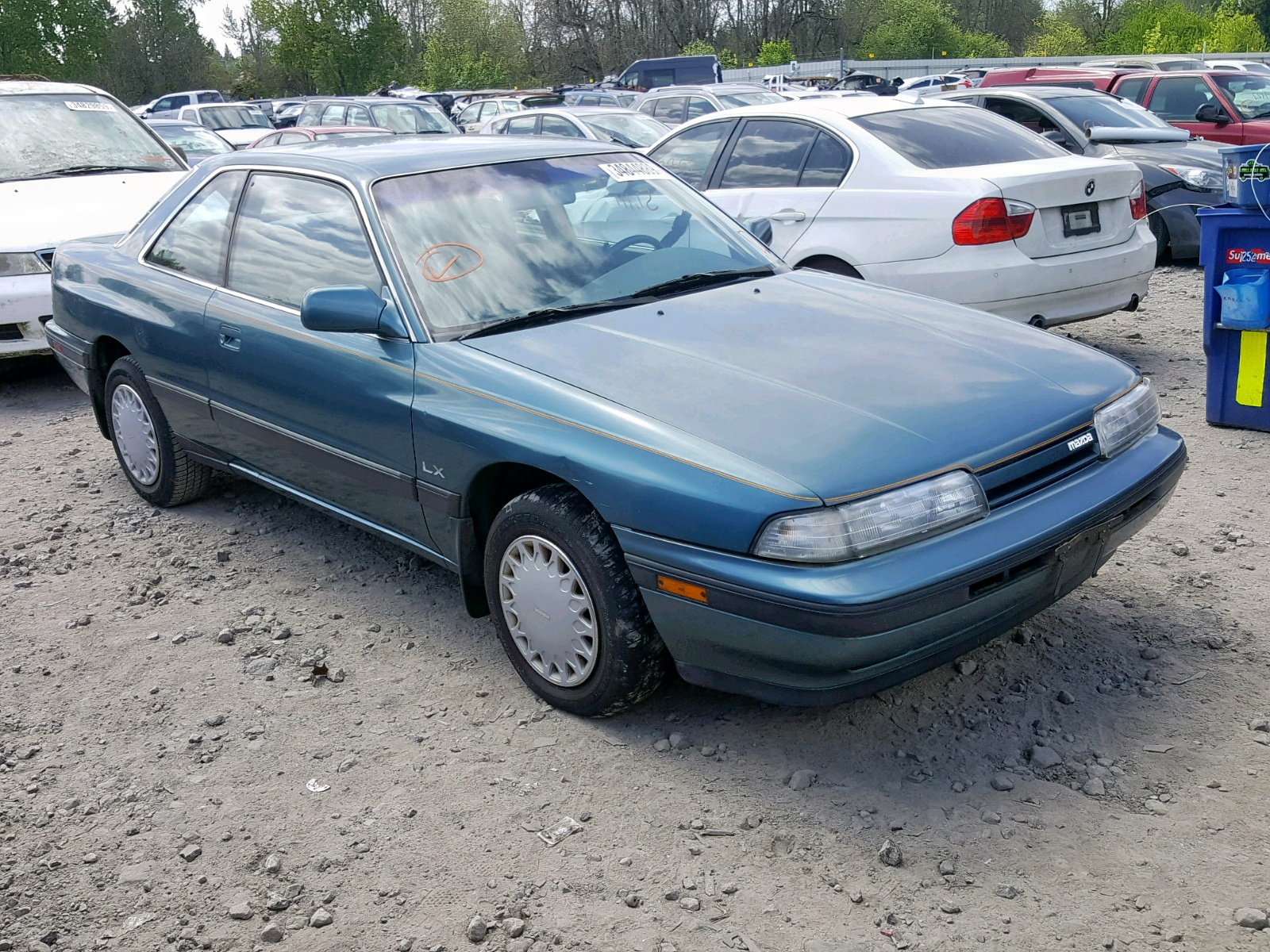 Salvage 1991 Mazda MX-6 for sale