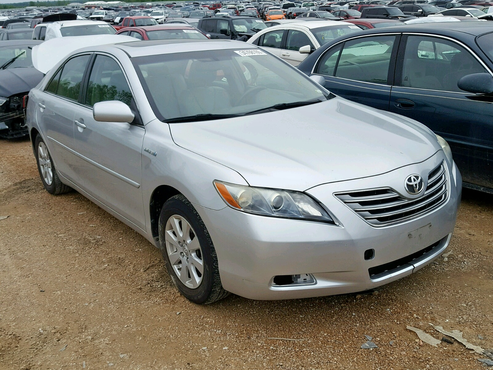 Salvage 2007 Toyota CAMRY NEW for sale