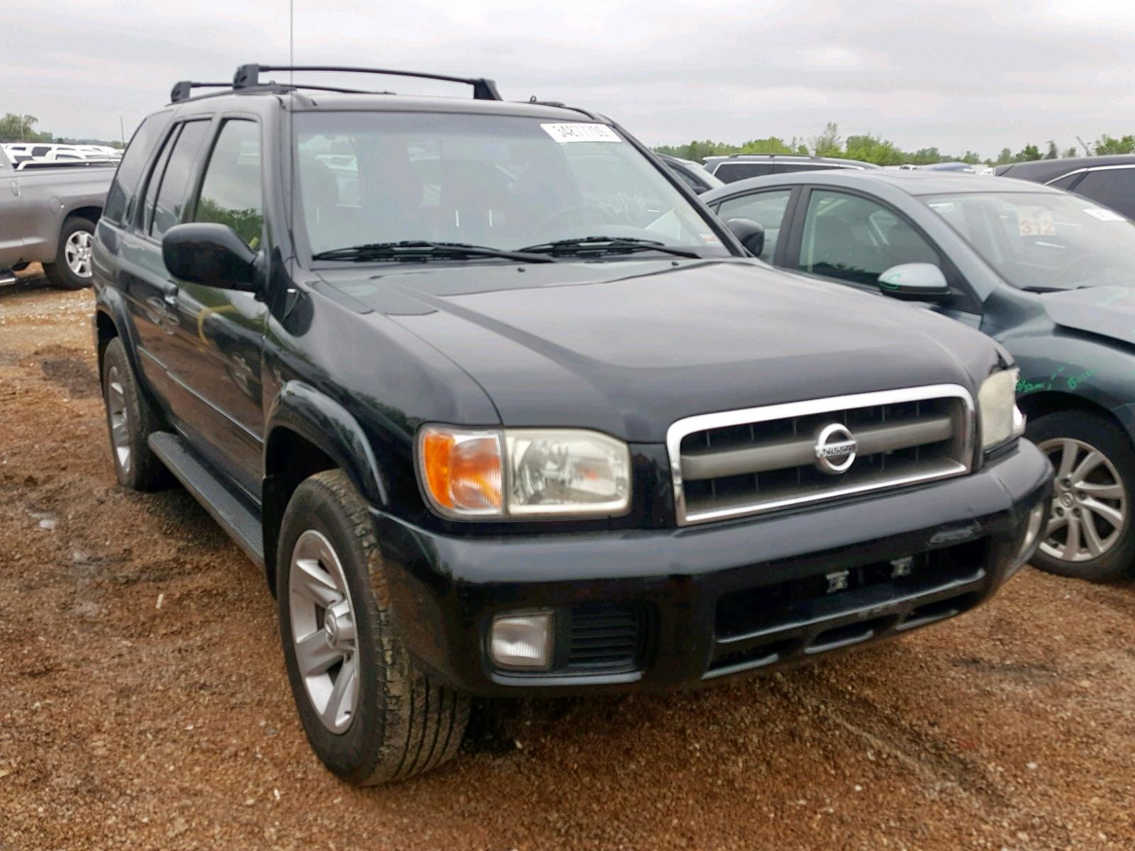 Salvage 2002 Nissan PATHFINDER for sale