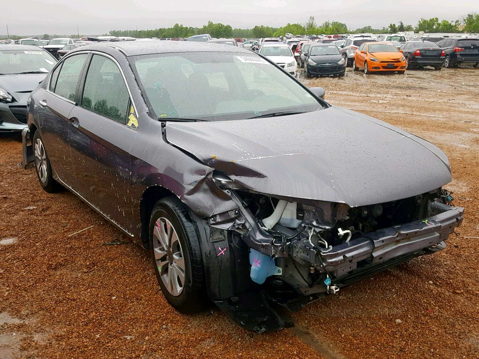 Salvage 2015 Honda ACCORD LX for sale