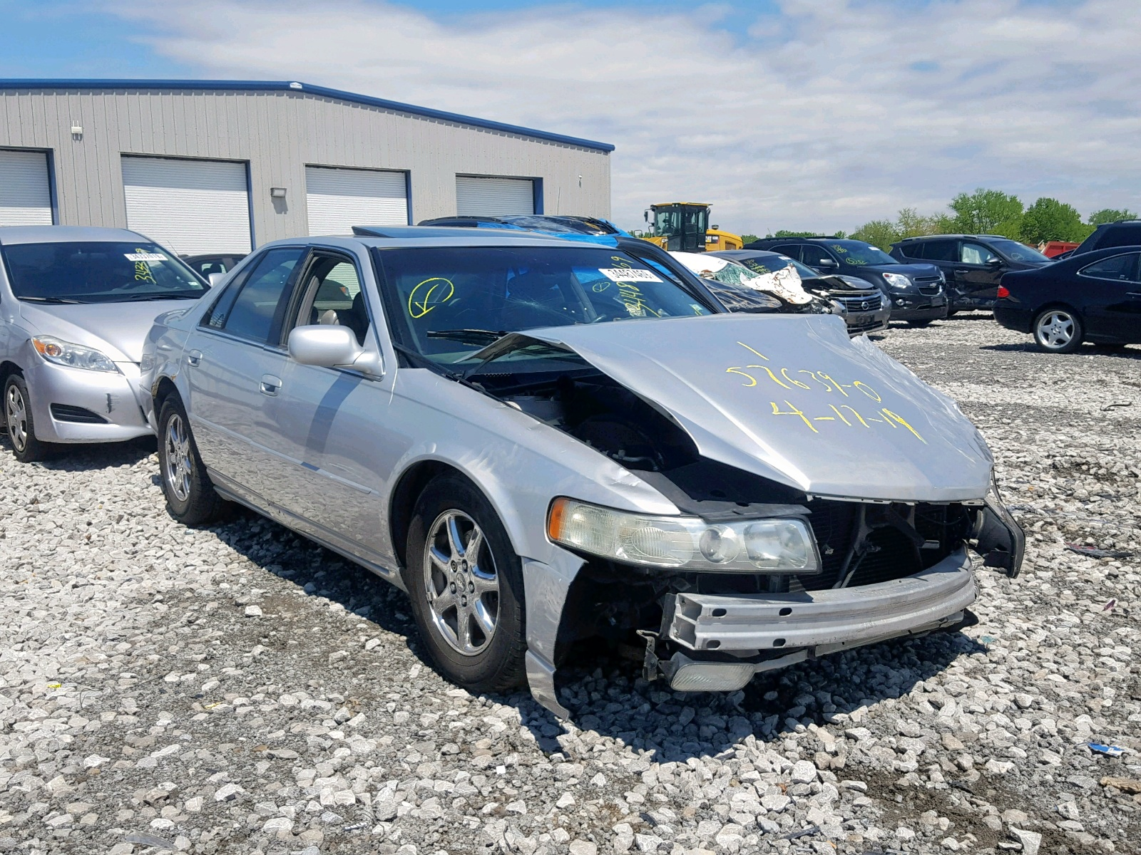 Salvage 2002 Cadillac SEVILLE ST for sale