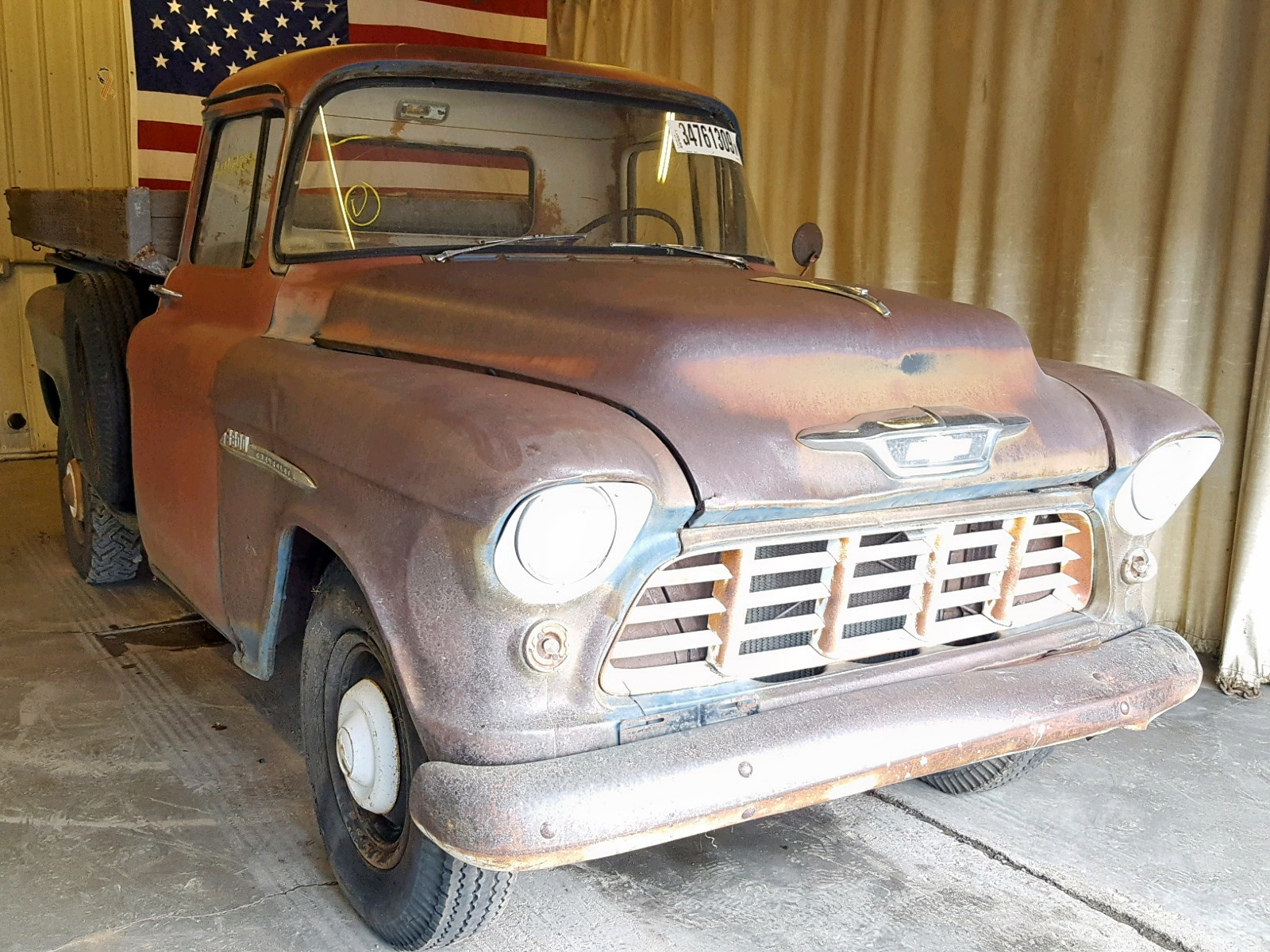 Salvage 1955 Chevrolet PICKUP for sale