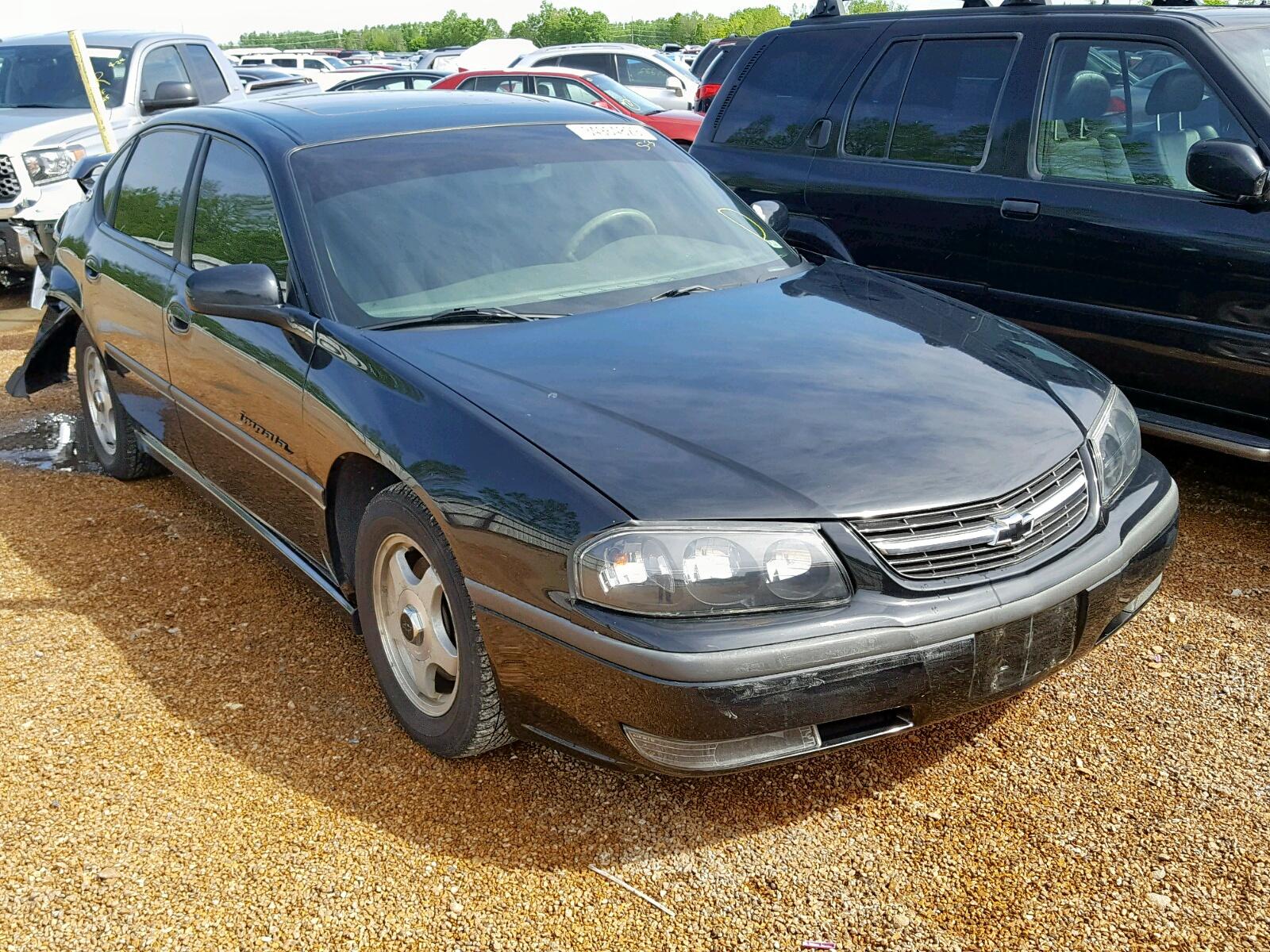 Salvage 2002 Chevrolet IMPALA LS for sale