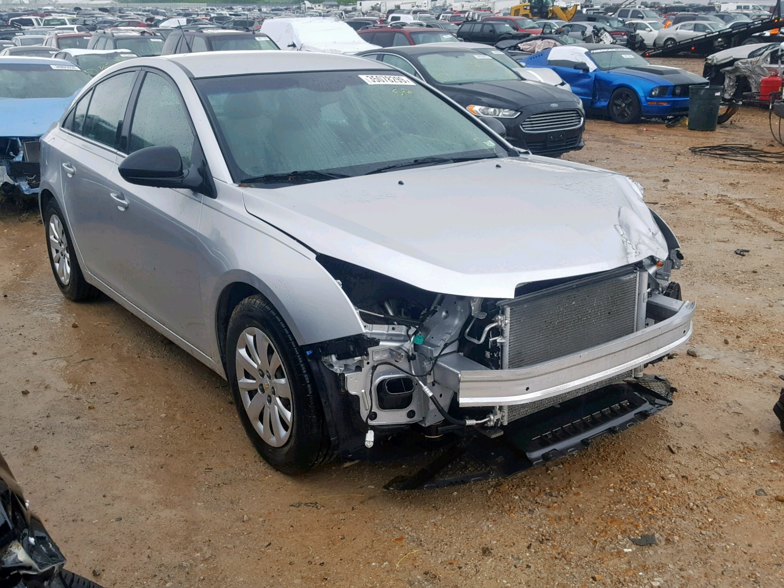 Salvage 2011 Chevrolet CRUZE LS for sale