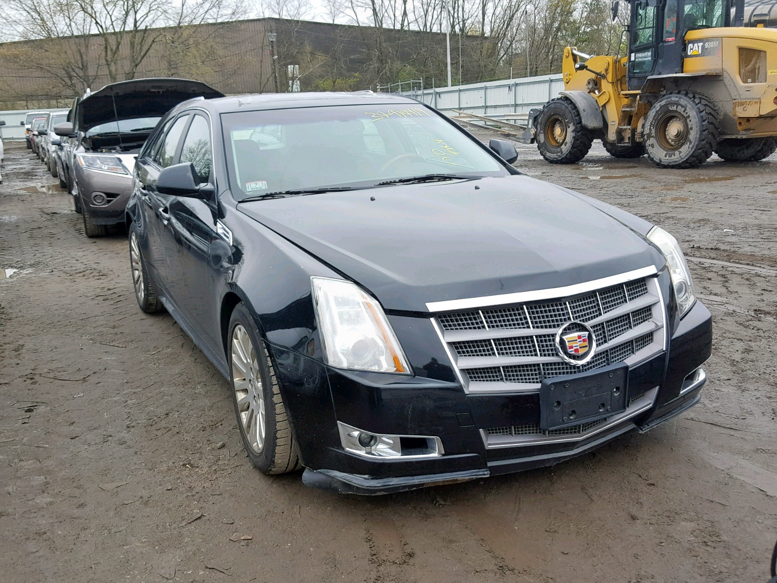 Salvage 2010 Cadillac CTS PREMIUM for sale