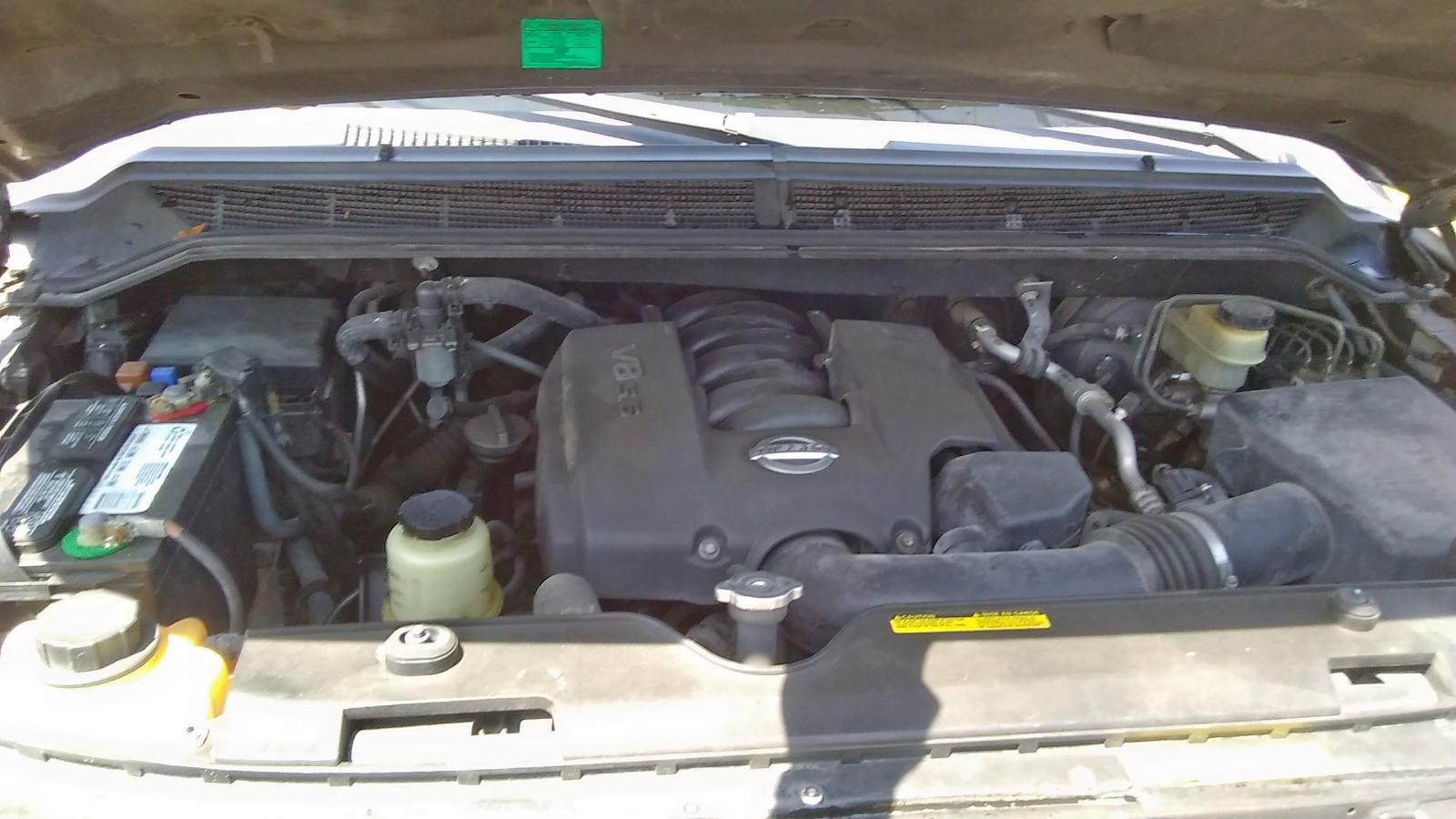 5N1AA08A54N700907 - 2004 Nissan Armada Se 5.6L front view