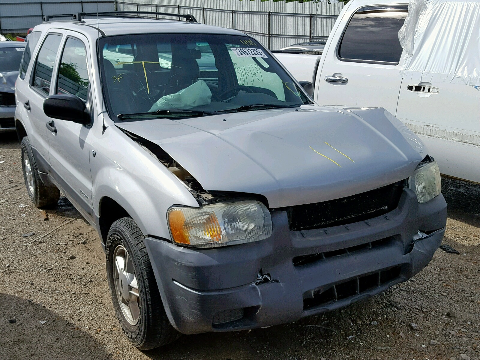 Salvage 2002 Ford ESCAPE XLS for sale