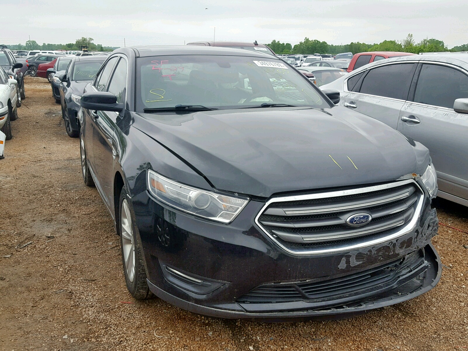 Salvage 2013 Ford TAURUS SEL for sale