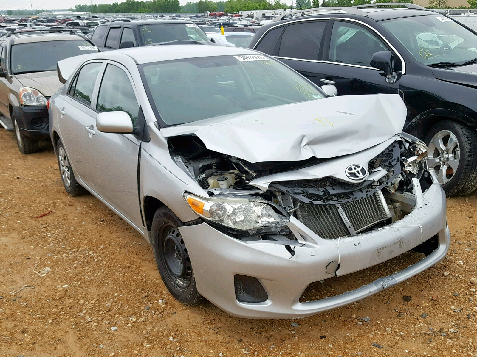Salvage 2013 Toyota COROLLA BA for sale