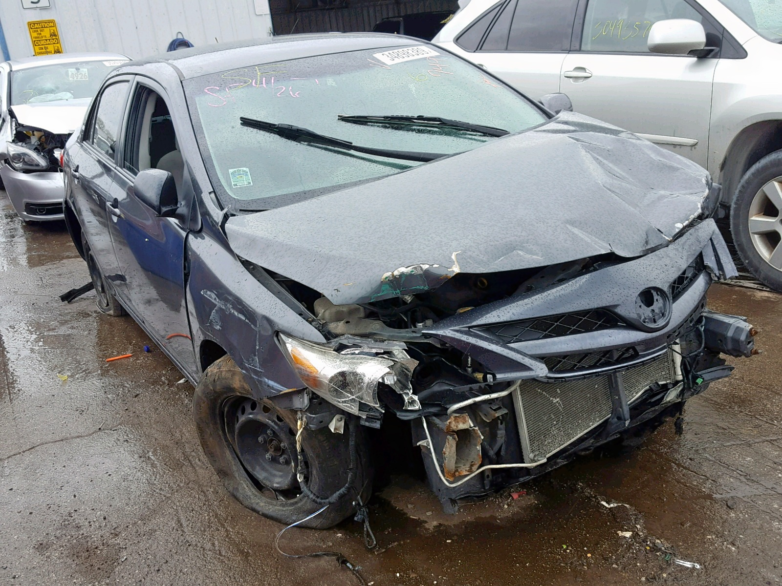 Salvage 2011 Toyota COROLLA BA for sale