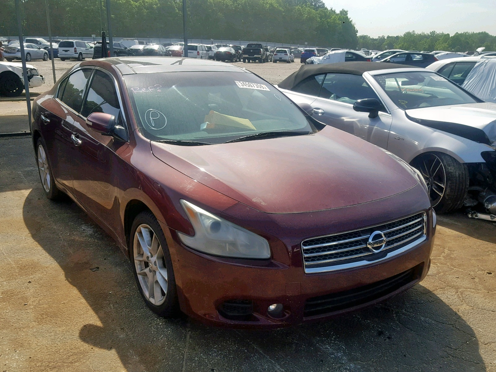 Salvage 2009 Nissan MAXIMA S for sale
