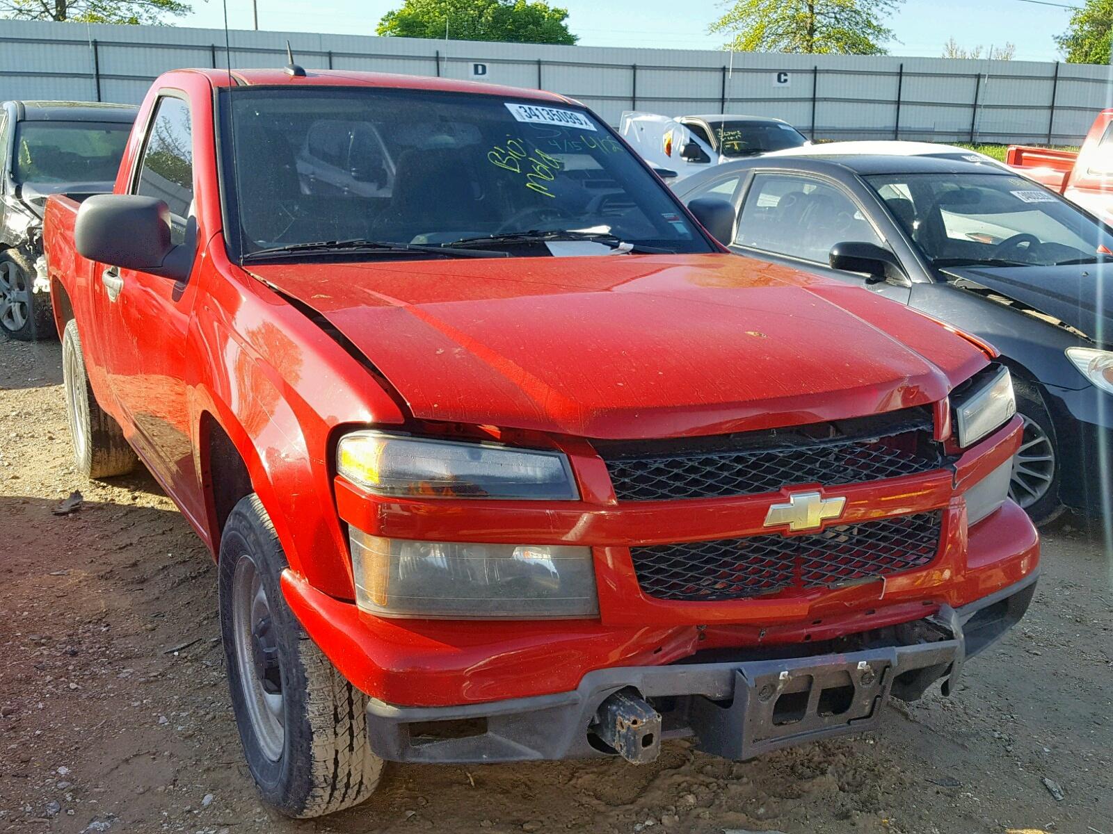 Salvage 2010 Chevrolet COLORADO for sale