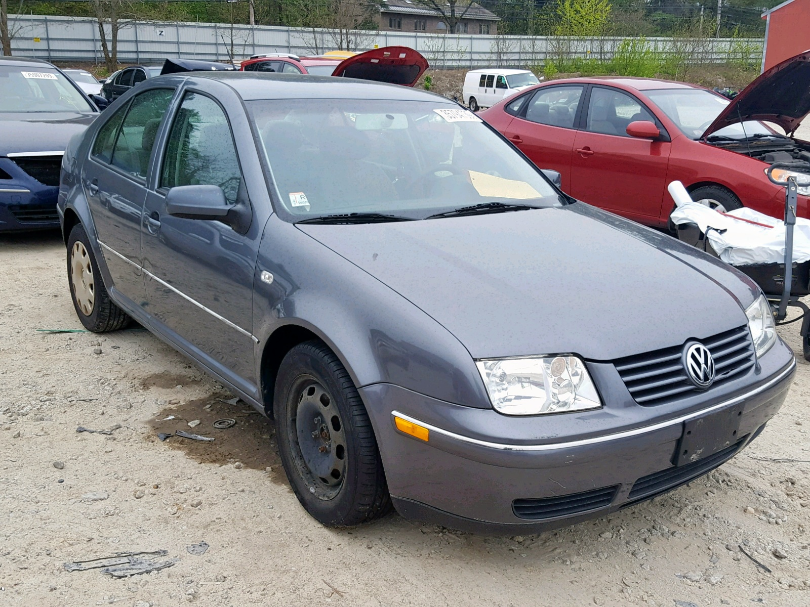Salvage 2005 Volkswagen JETTA GL for sale
