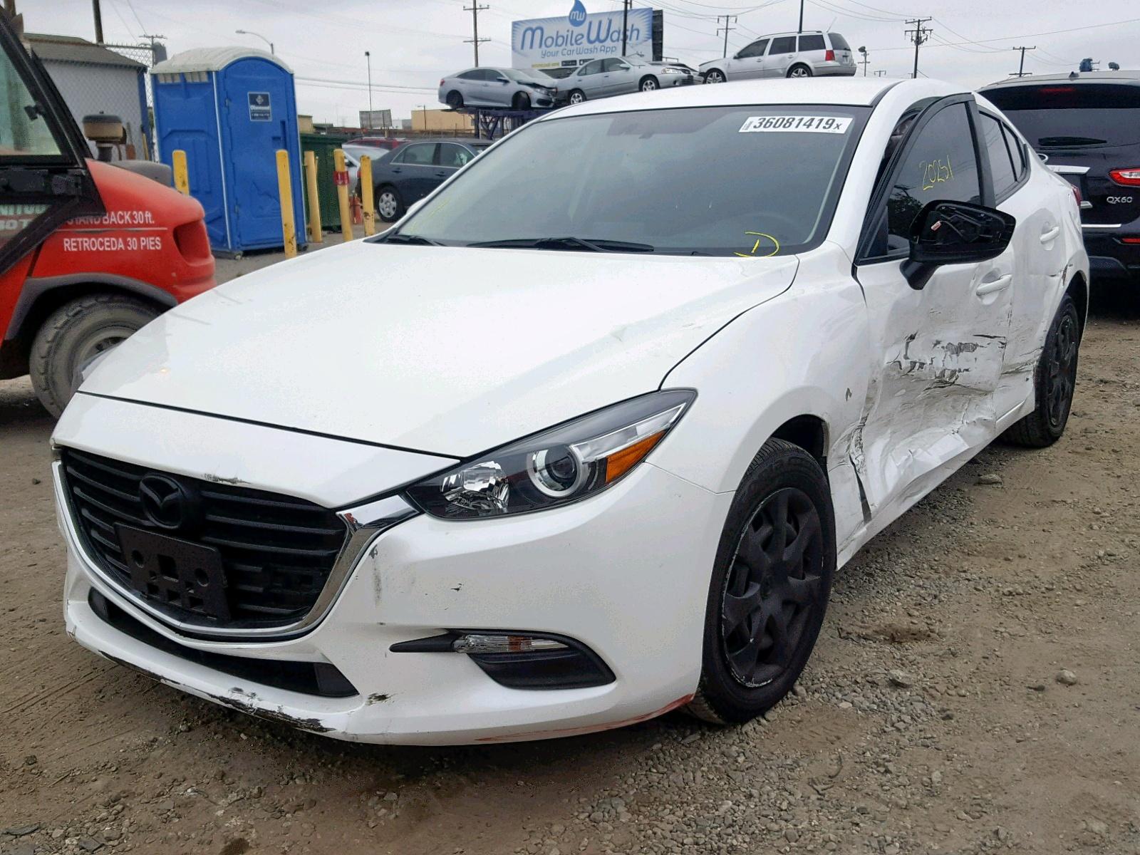 3MZBN1U79HM154459 - 2017 Mazda 3 Sport 2.0L Right View