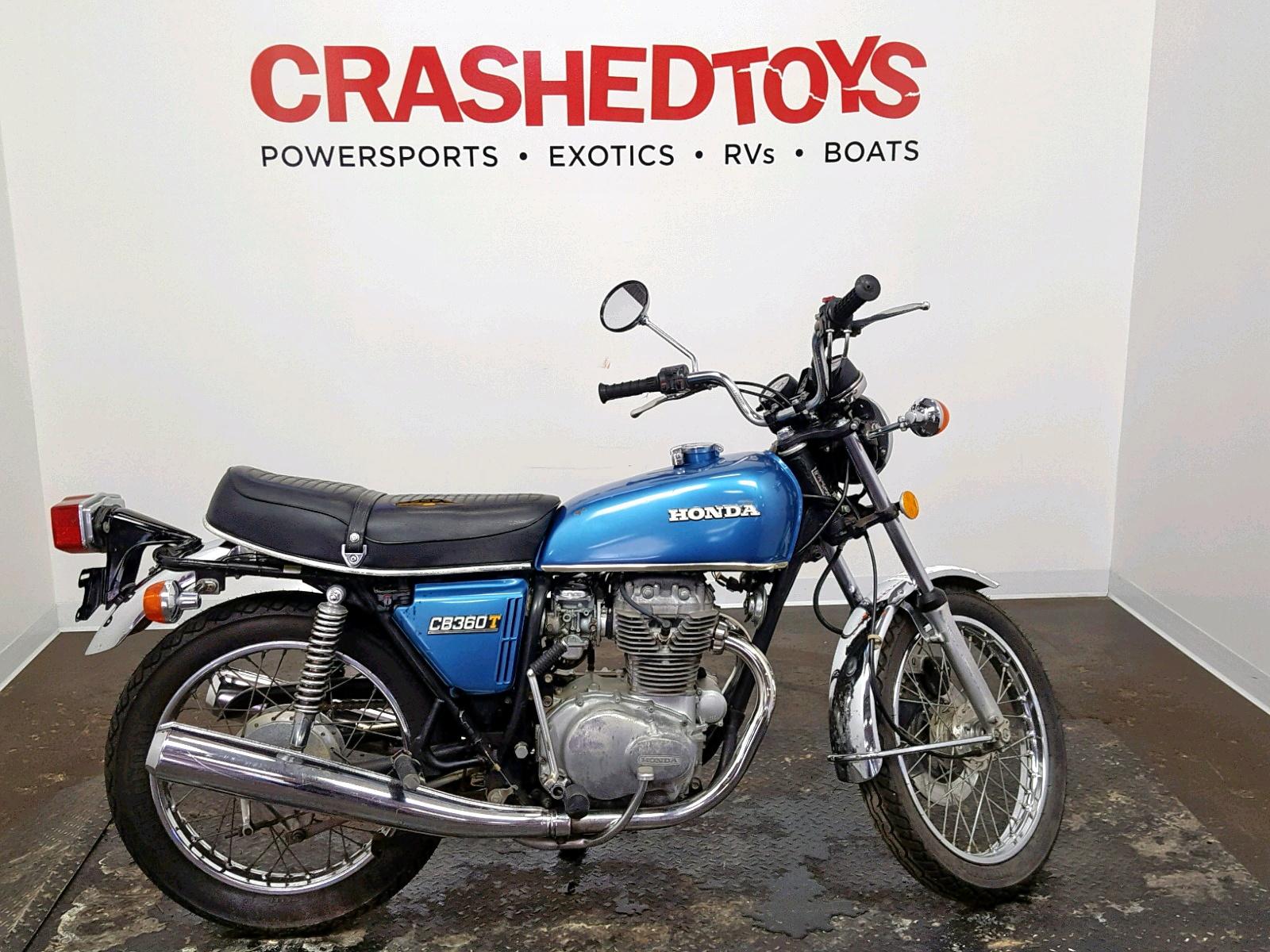 1976 Honda Cb360 Left View