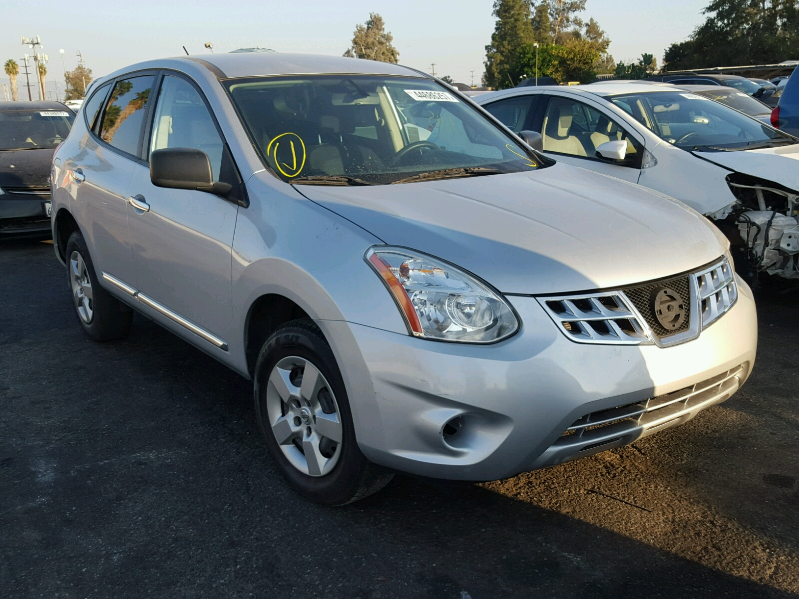 2013 Nissan Rogue For Sale At Copart Van Nuys Ca Lot