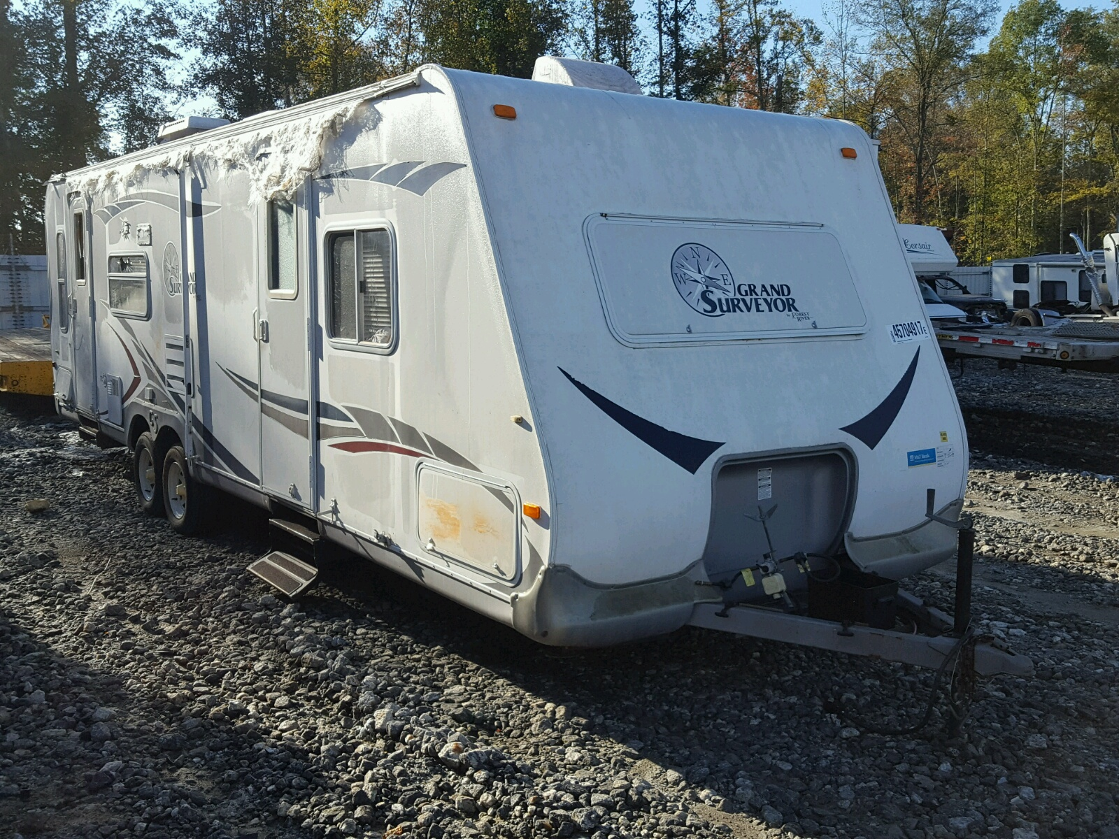 Salvaged Recreational Vehicles For Auction