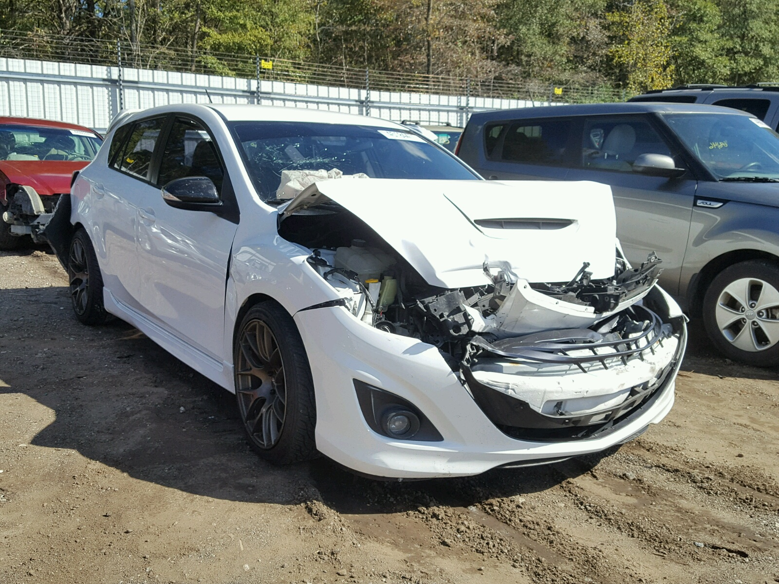 Salvage 2013 Mazda SPEED 3 for sale