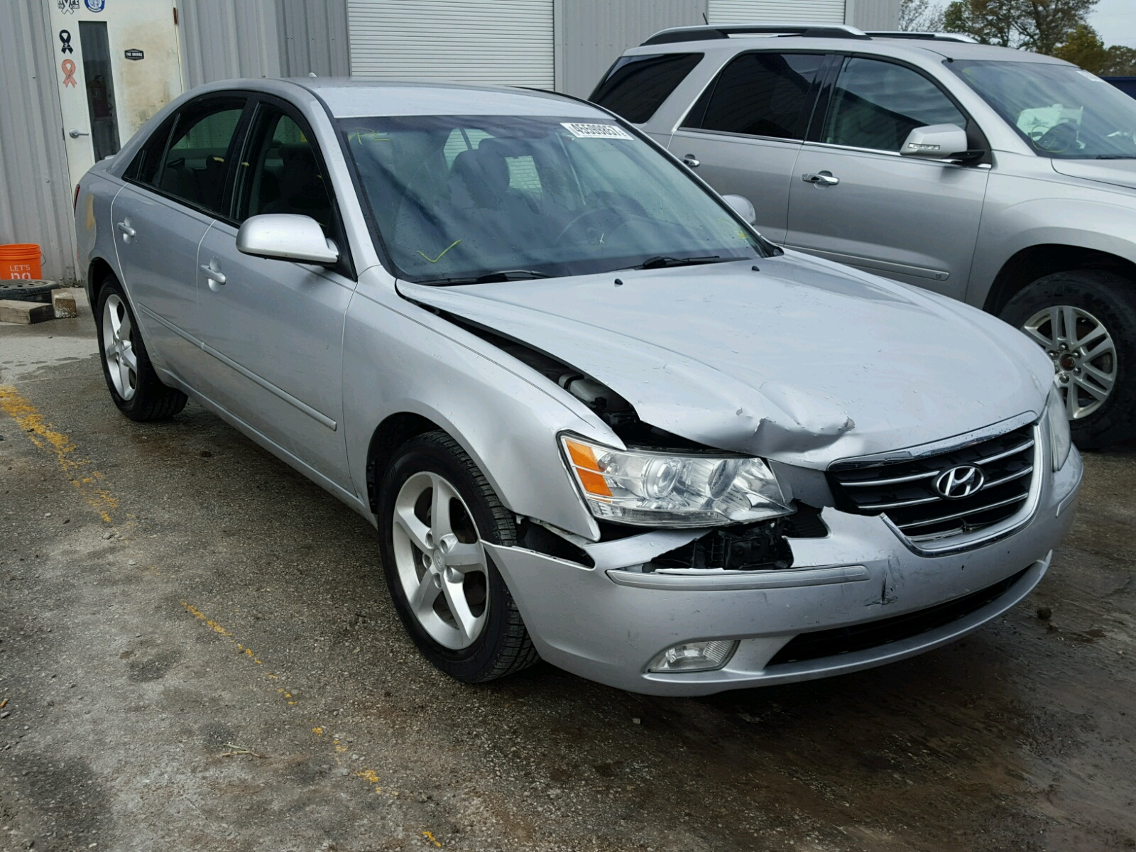 Auto Auction Ended On Vin Km8nu73c27u010598 2007 Hyundai