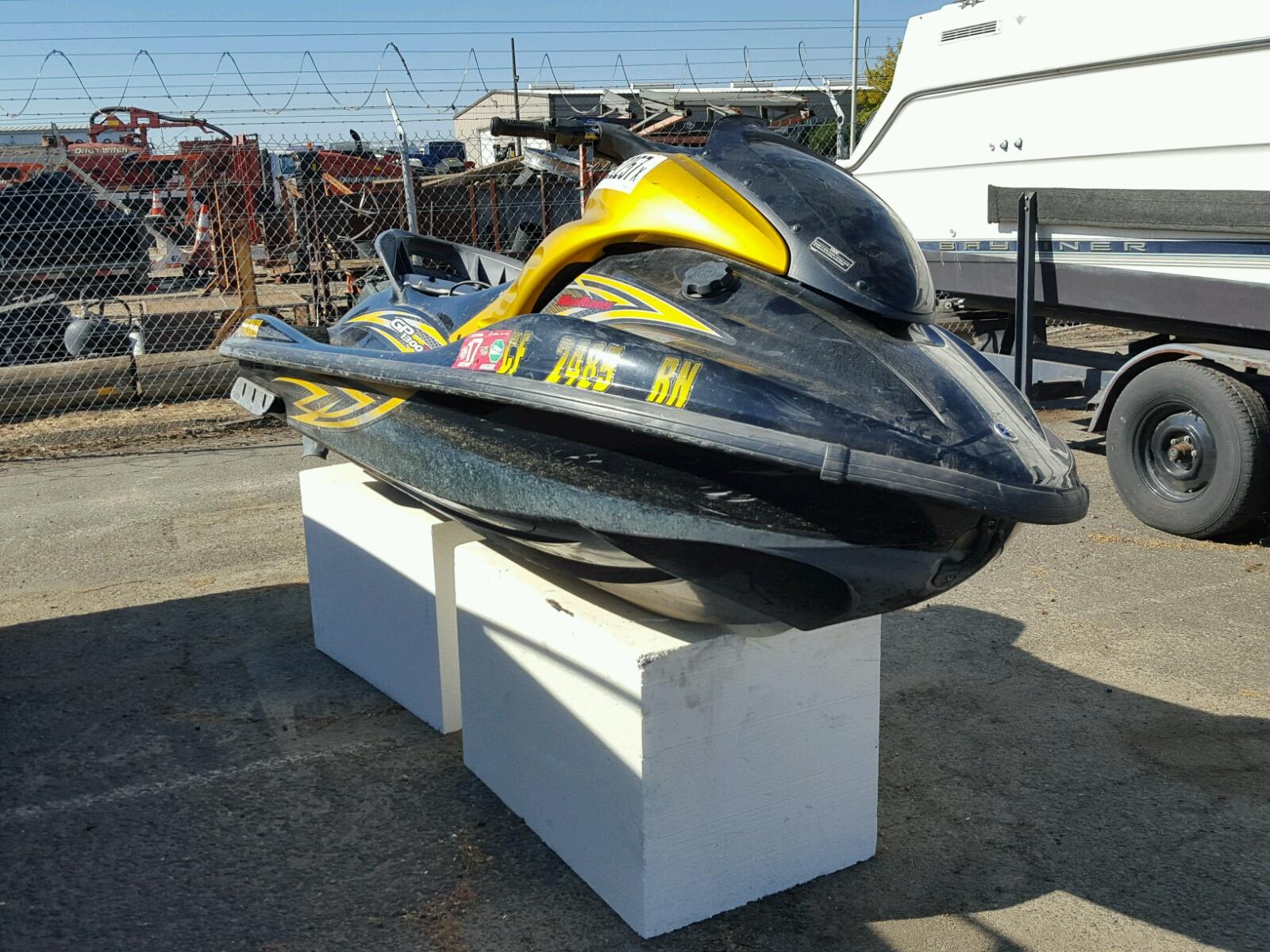 Salvage 2007 Yamaha GP1300 for sale