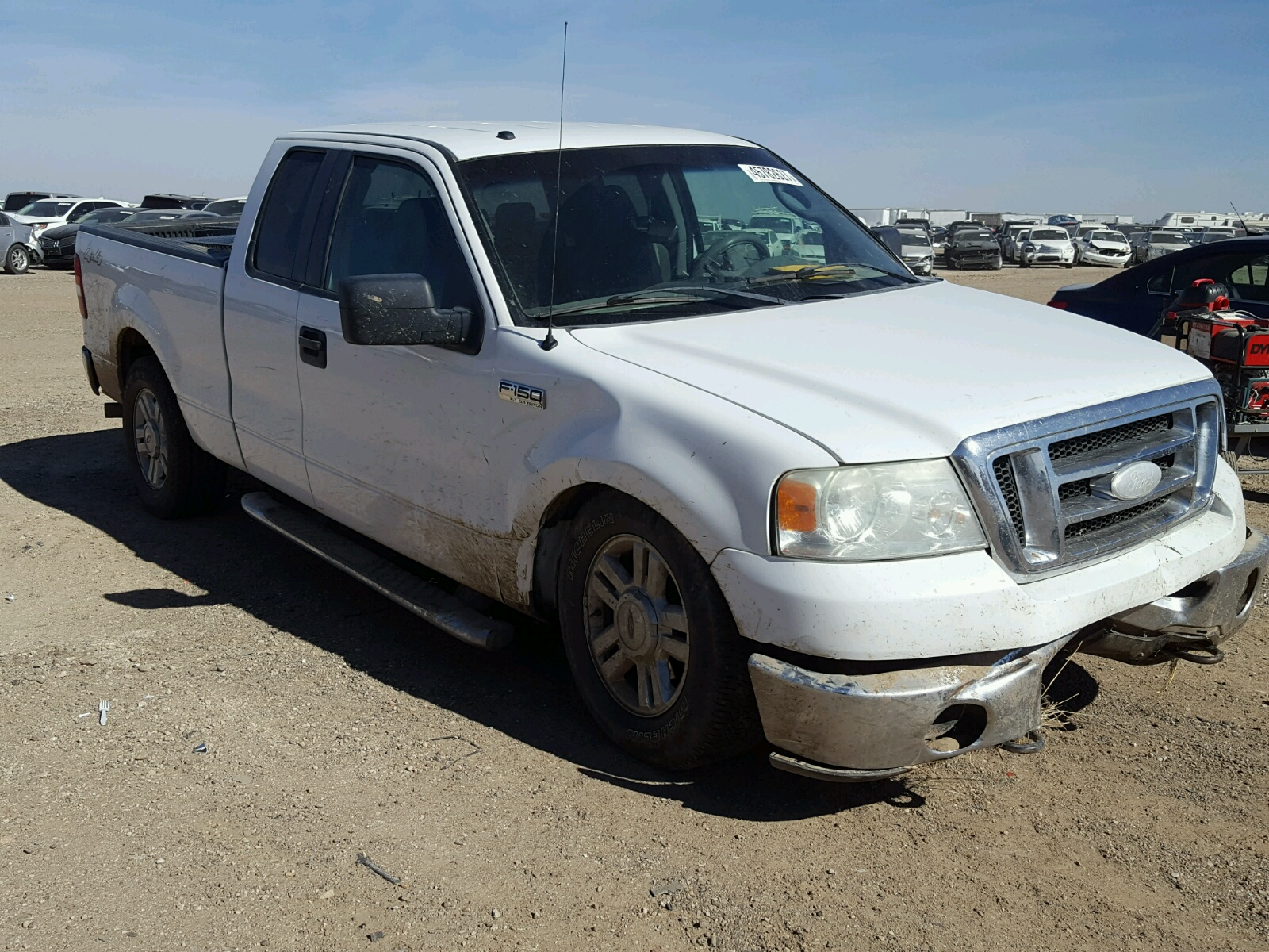 Auto Auction Ended On Vin 1ftrx12w58fb99145 2008 Ford