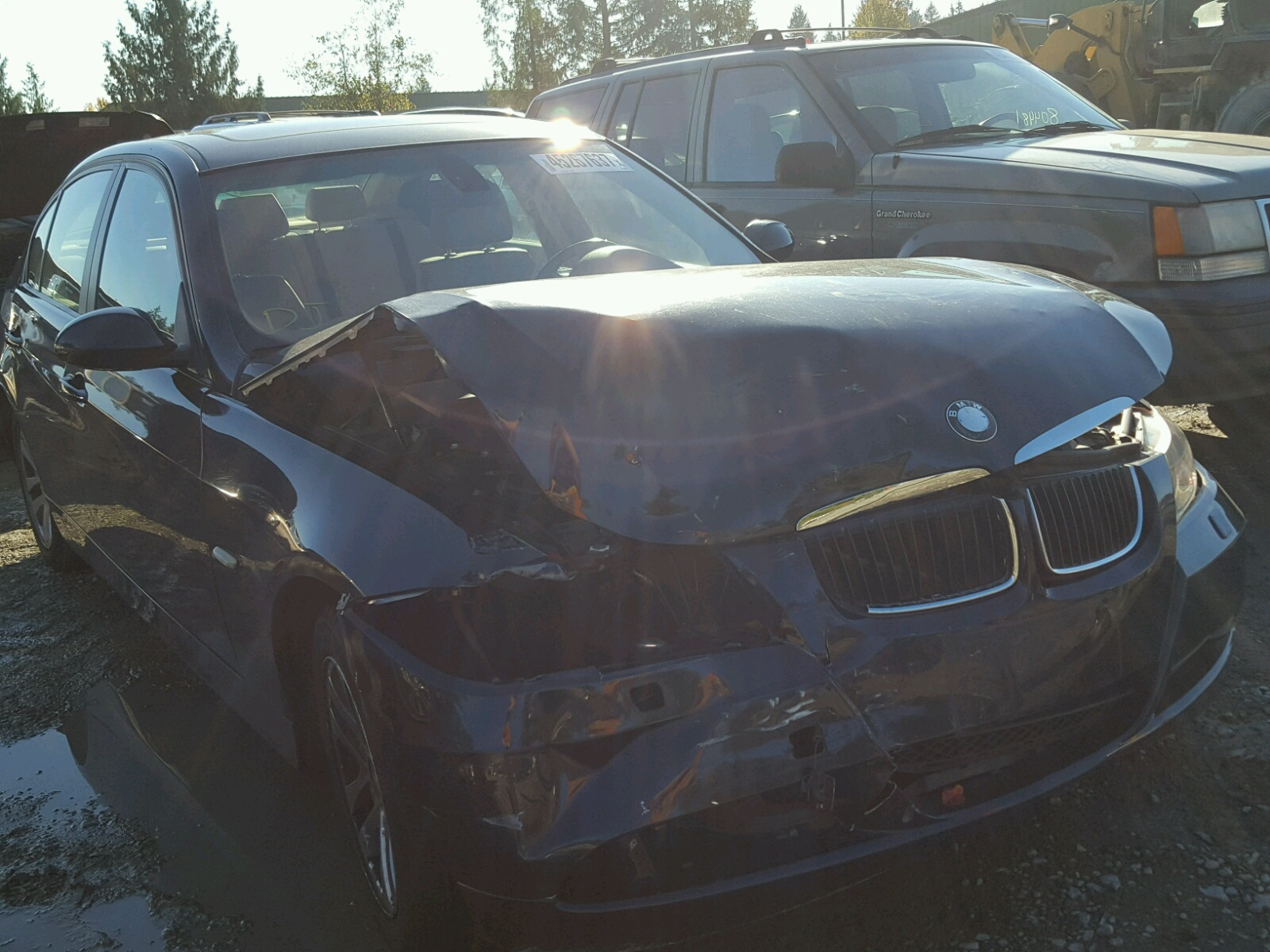 Auto Auction Ended On Vin Wbavd33596kl51003 2006 Bmw 330xi In Oh Dayton