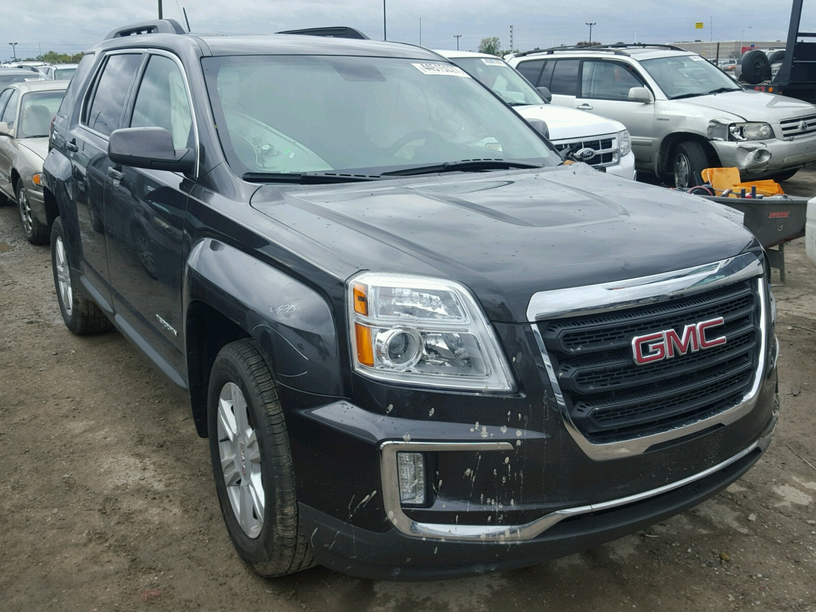 auto auction ended on vin 2gkflsek4g6297853 2016 gmc terrain sl in ab calgary. Black Bedroom Furniture Sets. Home Design Ideas