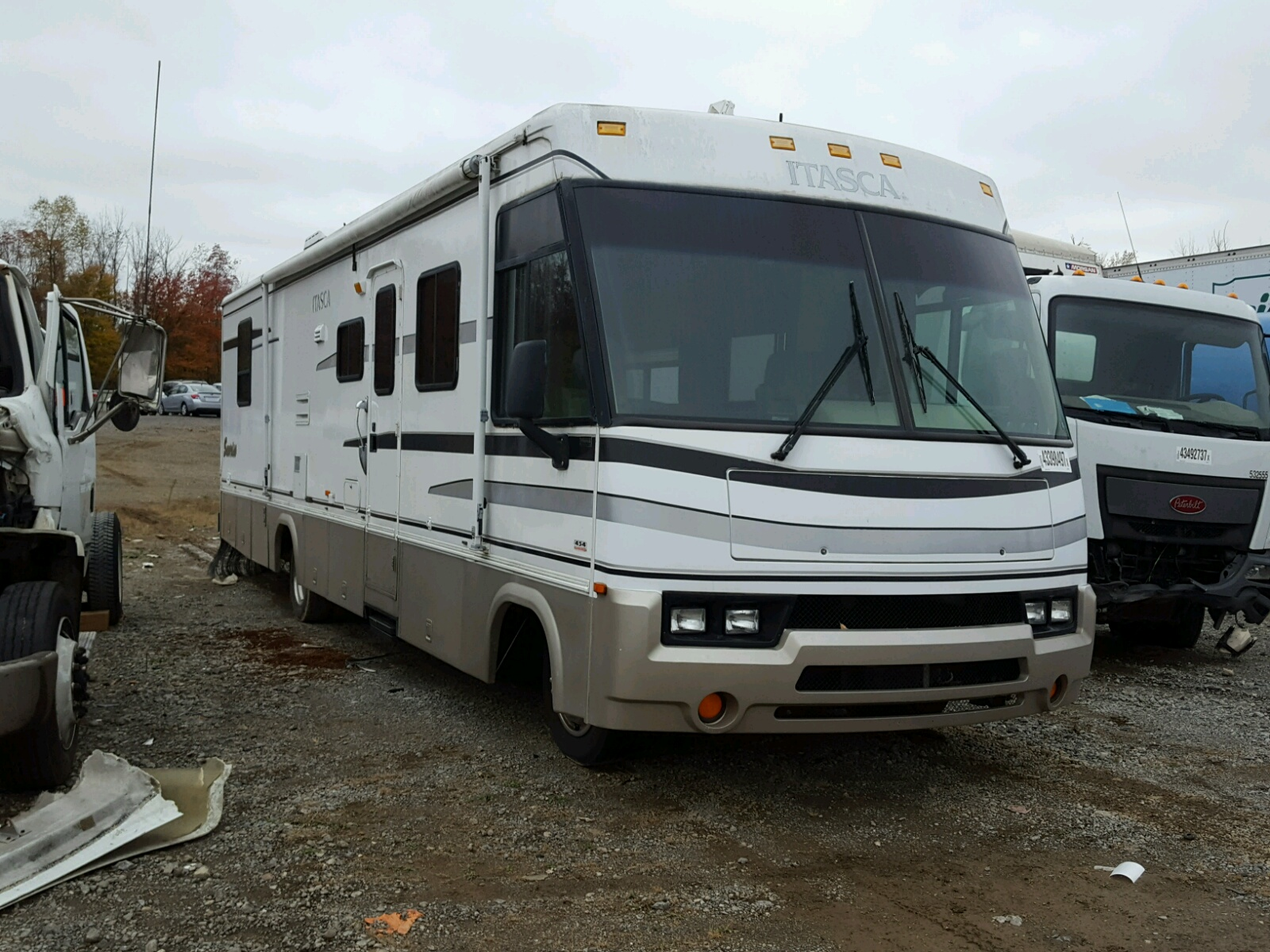 2000 Workhorse Custom Chassis Motorhome for sale at Copart ...