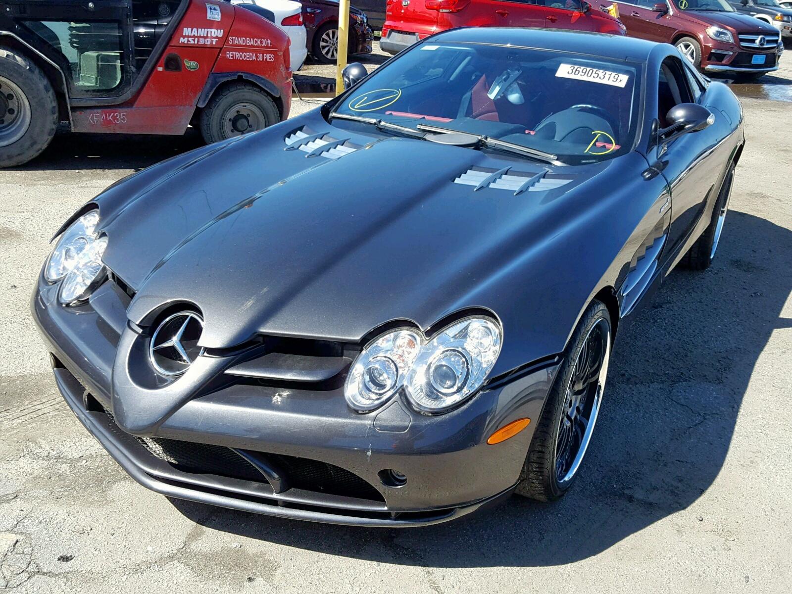 2006 Mercedes Benz Slr 5 5l 8 In Ca Los Angeles