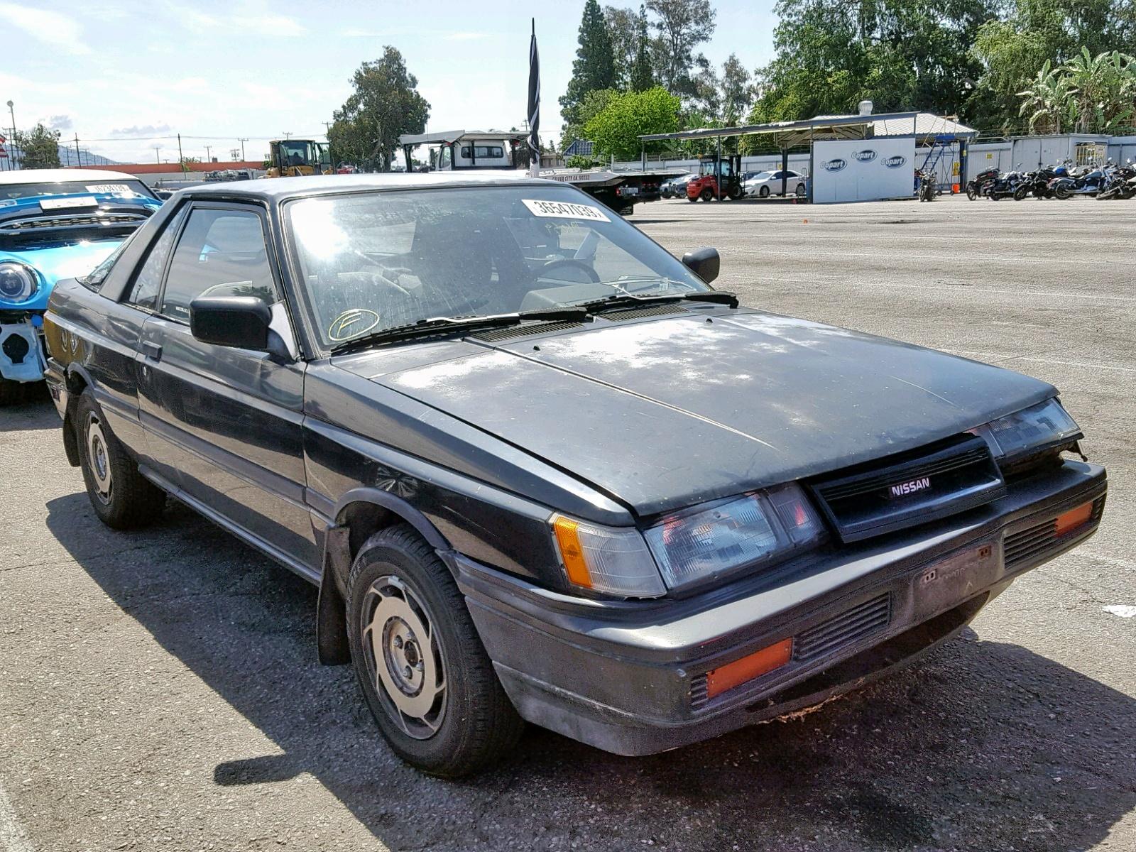 1989 Nissan Sentra 1 6l 4 In Ca Van Nuys