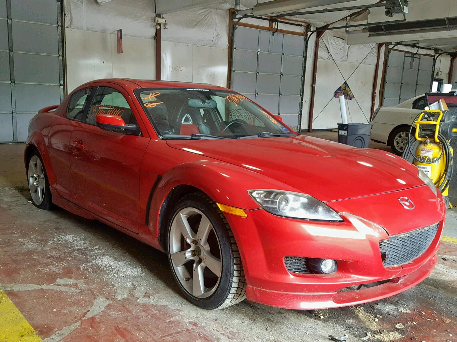 JM1FE173550158875 - 2005 Mazda Rx8 1.3L Left View
