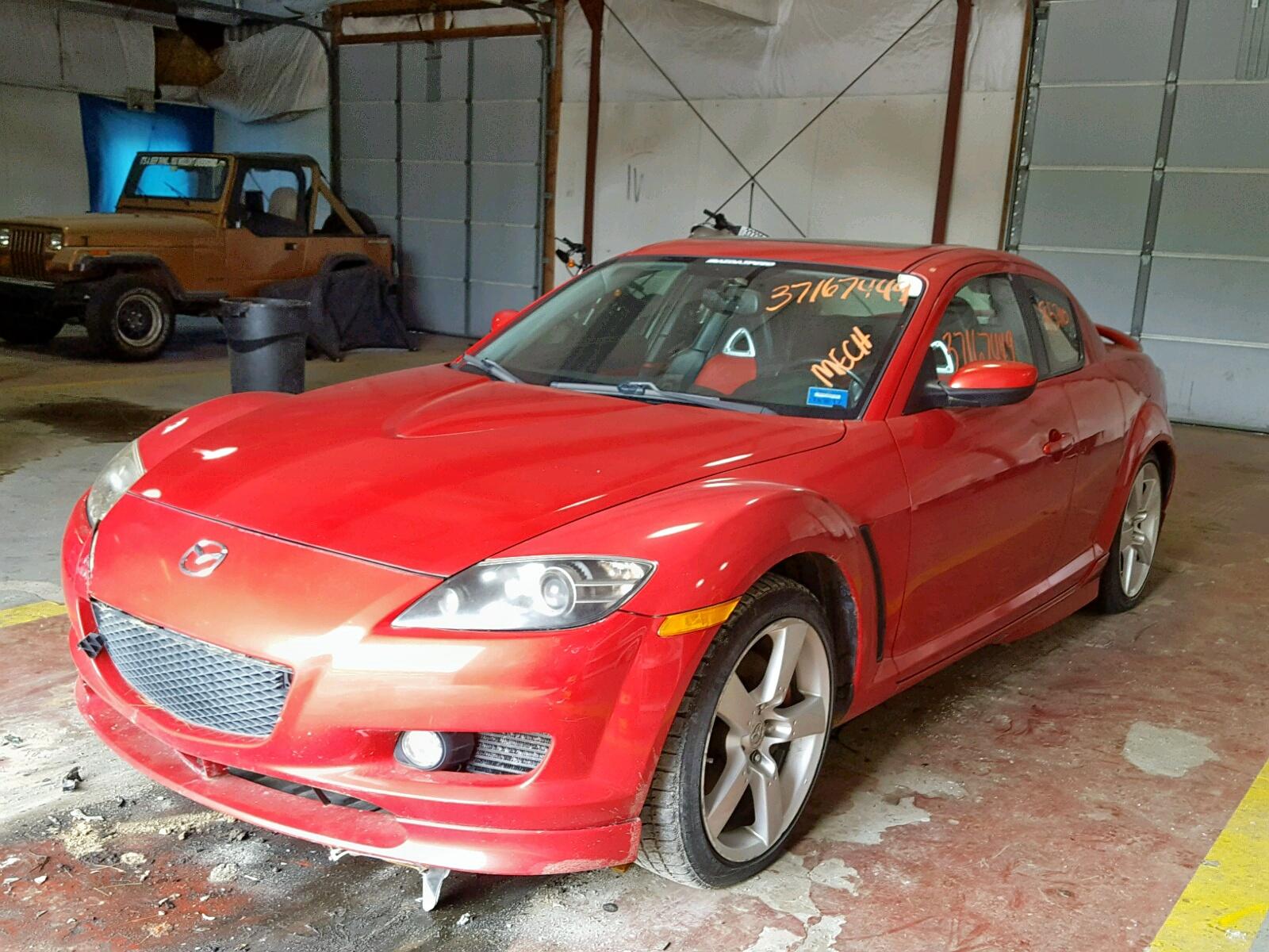 JM1FE173550158875 - 2005 Mazda Rx8 1.3L Right View